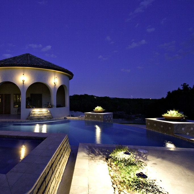 It's difficult for burglars to hide in the dark when a home is well-lit.