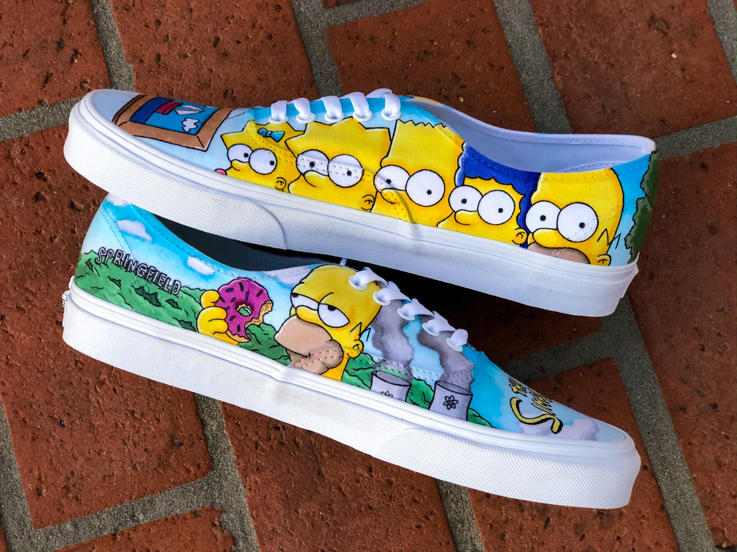 The Simpsons Custom Authentics