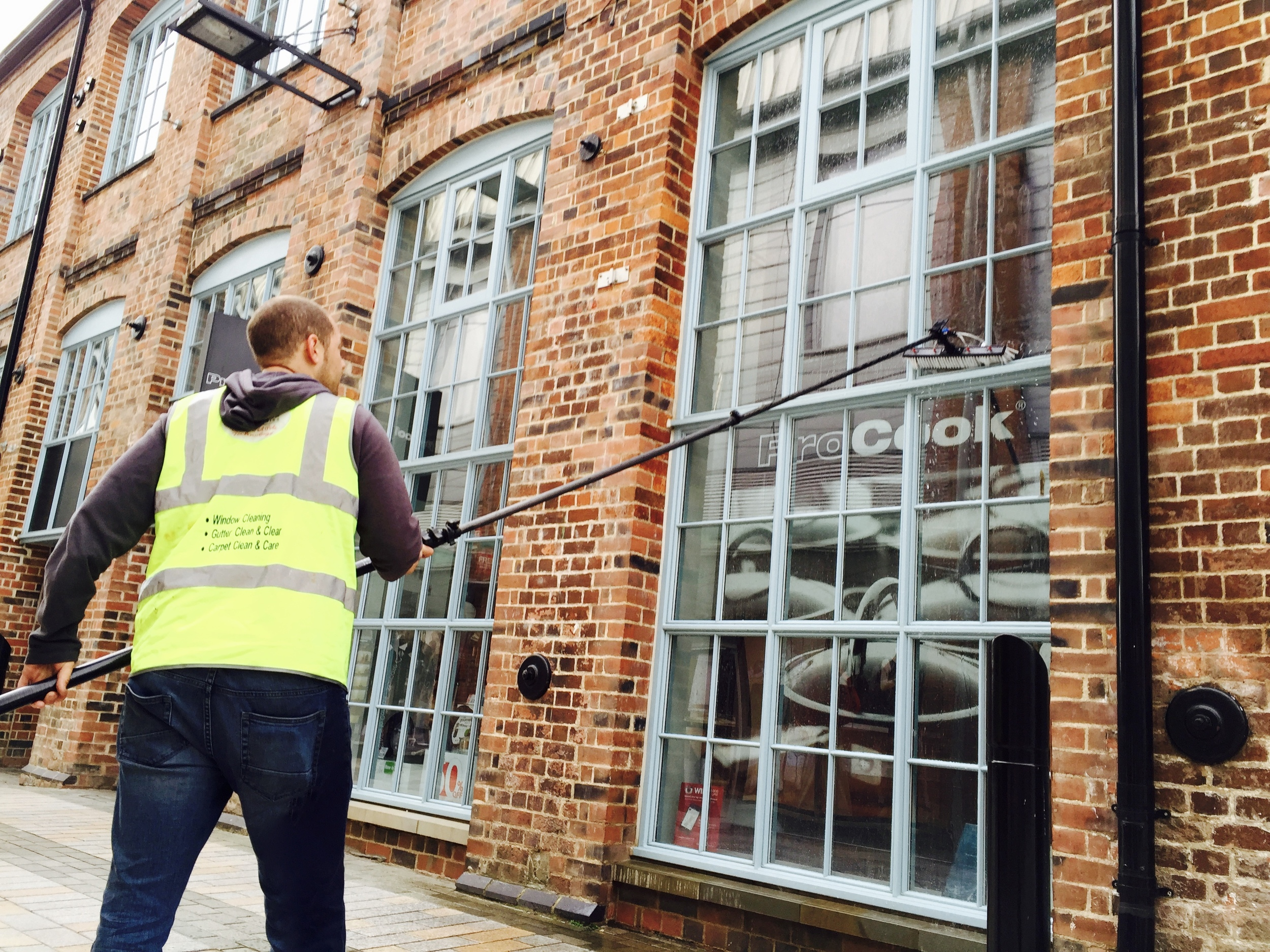 commercial window cleaning gloucester