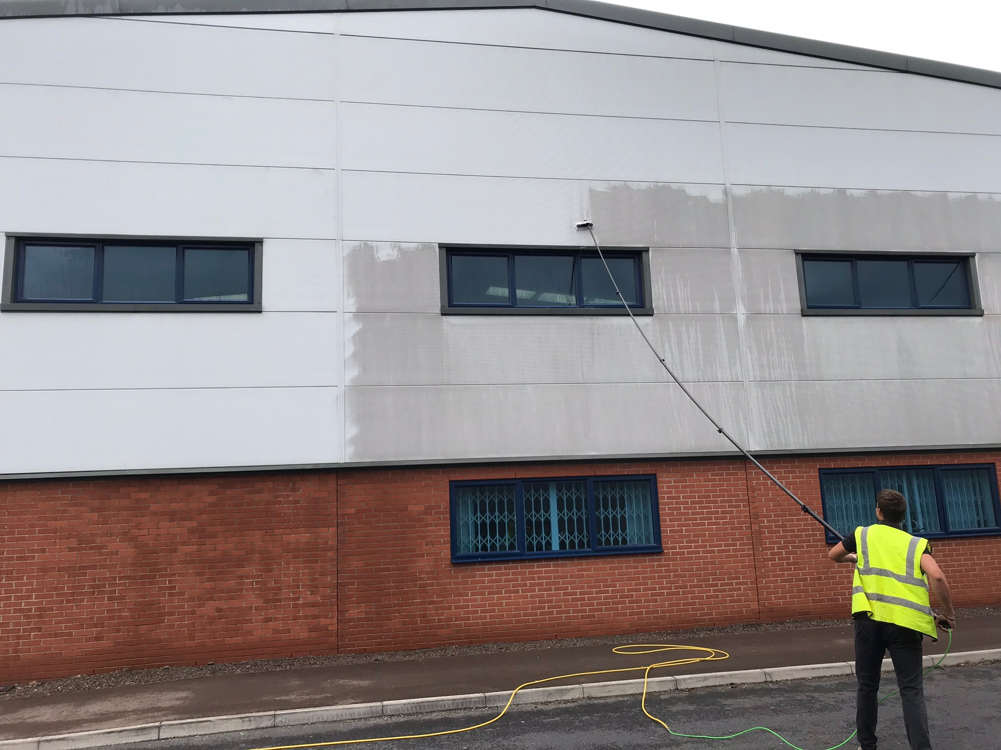 CLADDING &FACADE CLEANING   REQUEST A QUOTATION