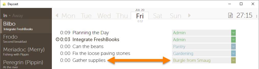 FreshBooks Time Tracking Integration
