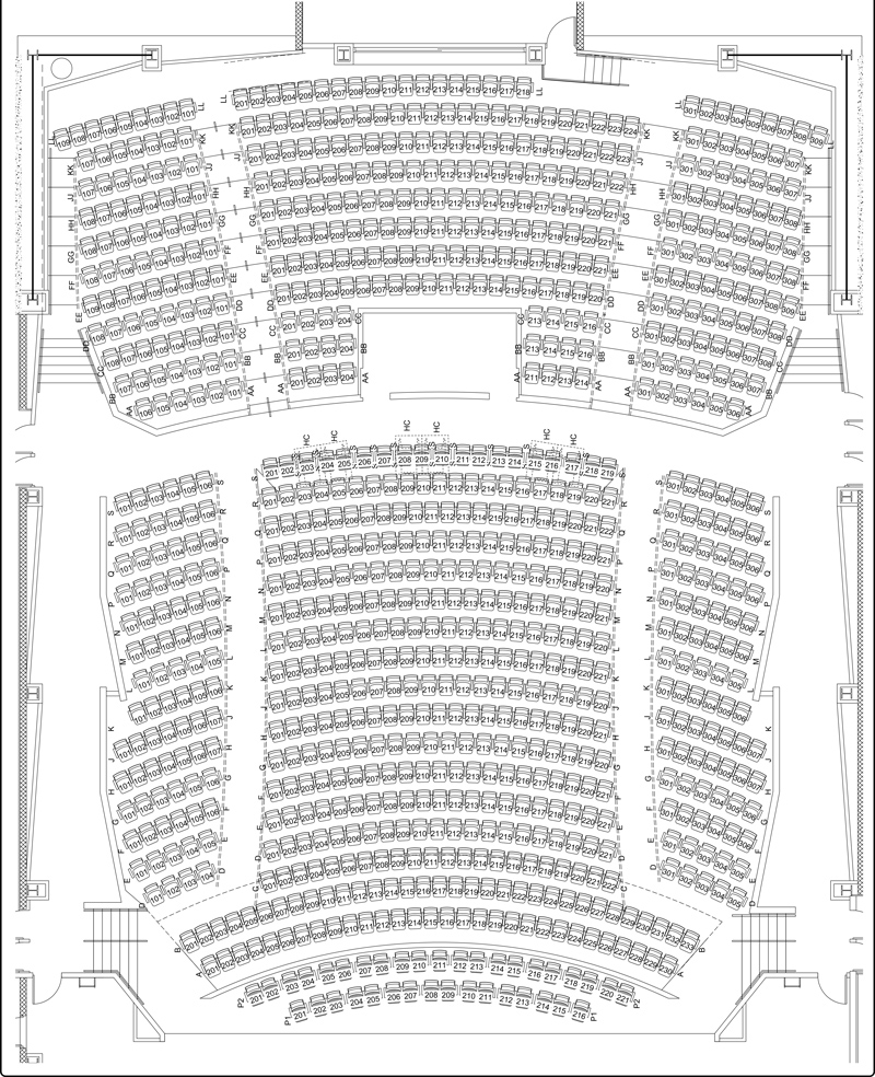 Click the image above for an enlarged seating diagram.