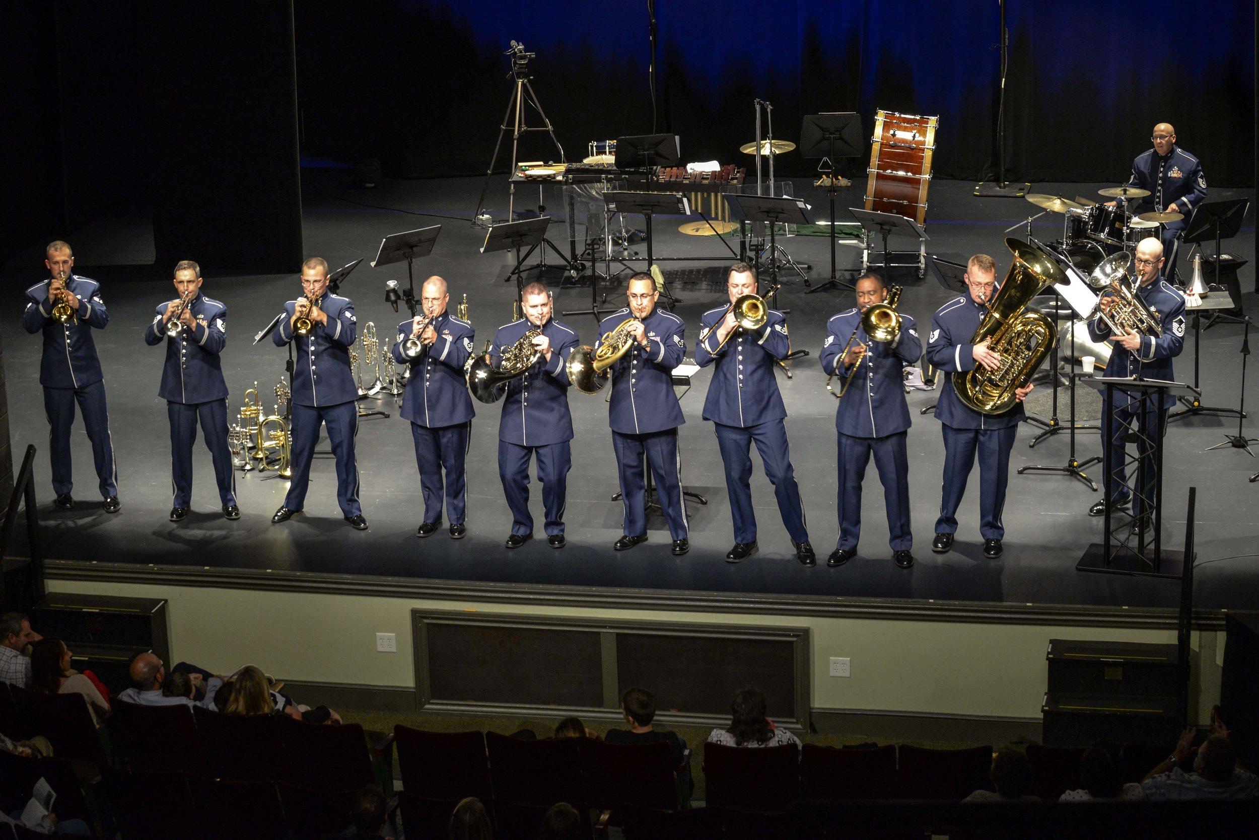 USAF HoA Band Horn Section