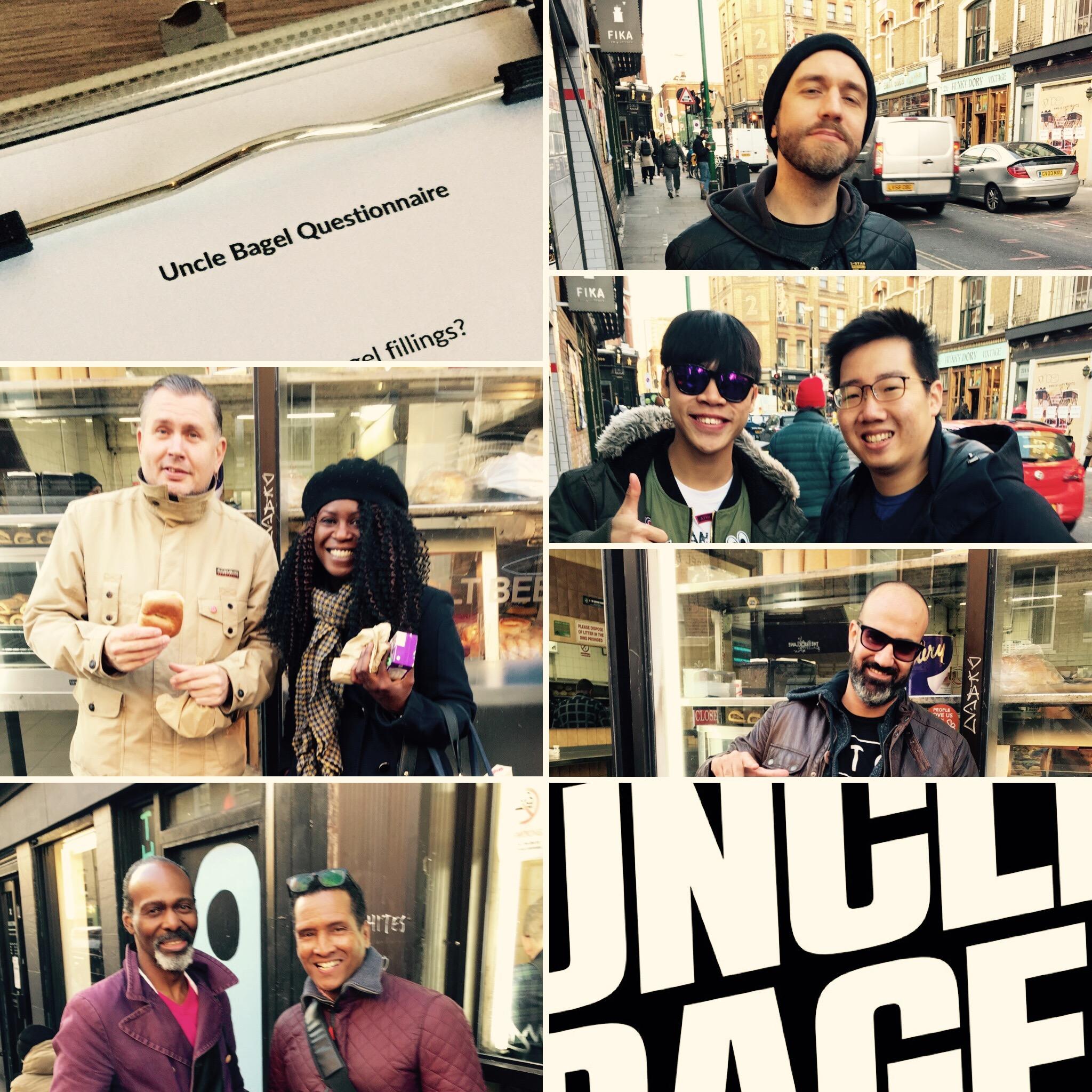 Uncle Bagel R&D Participants