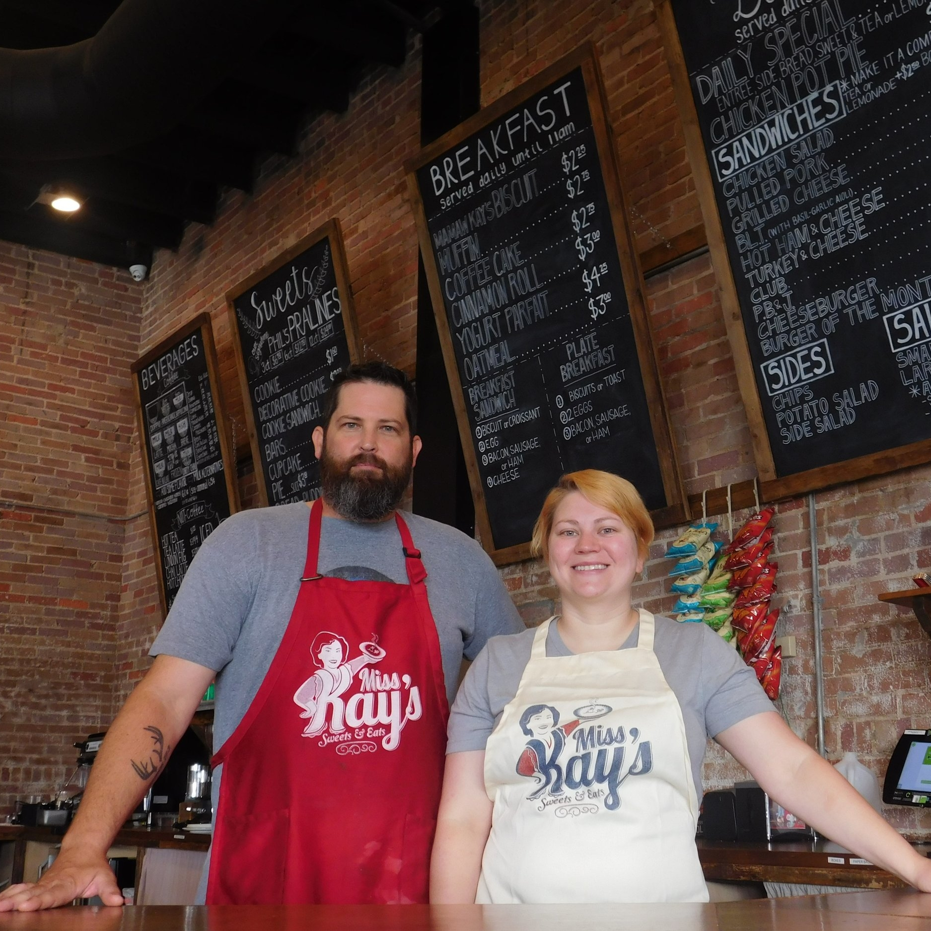 Alex Robertson Mancuso & Jon Gimber   Miss Kay's Sweets  and Eats  X    URBAN GRUB       Details
