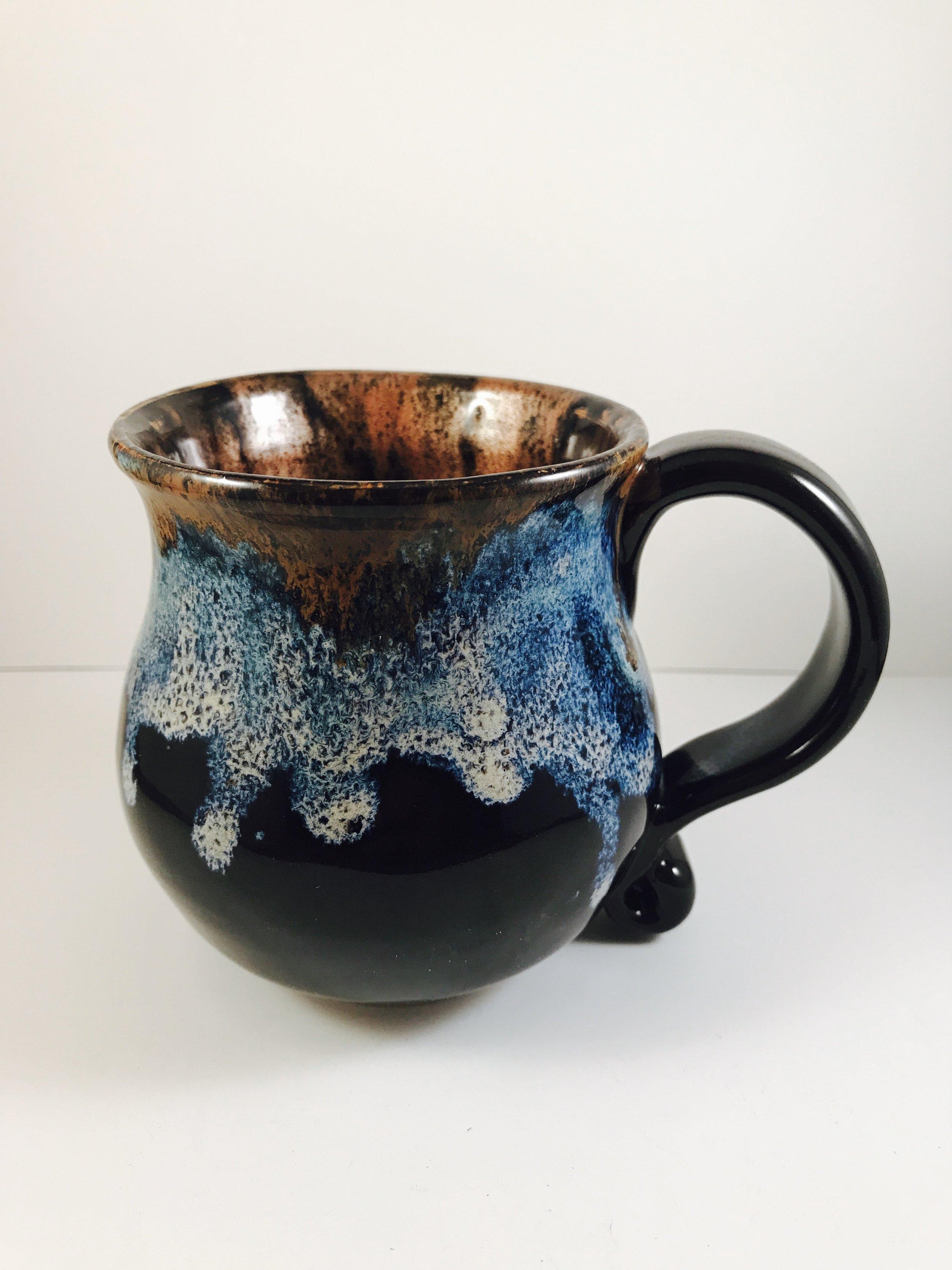 Temmoku Mug