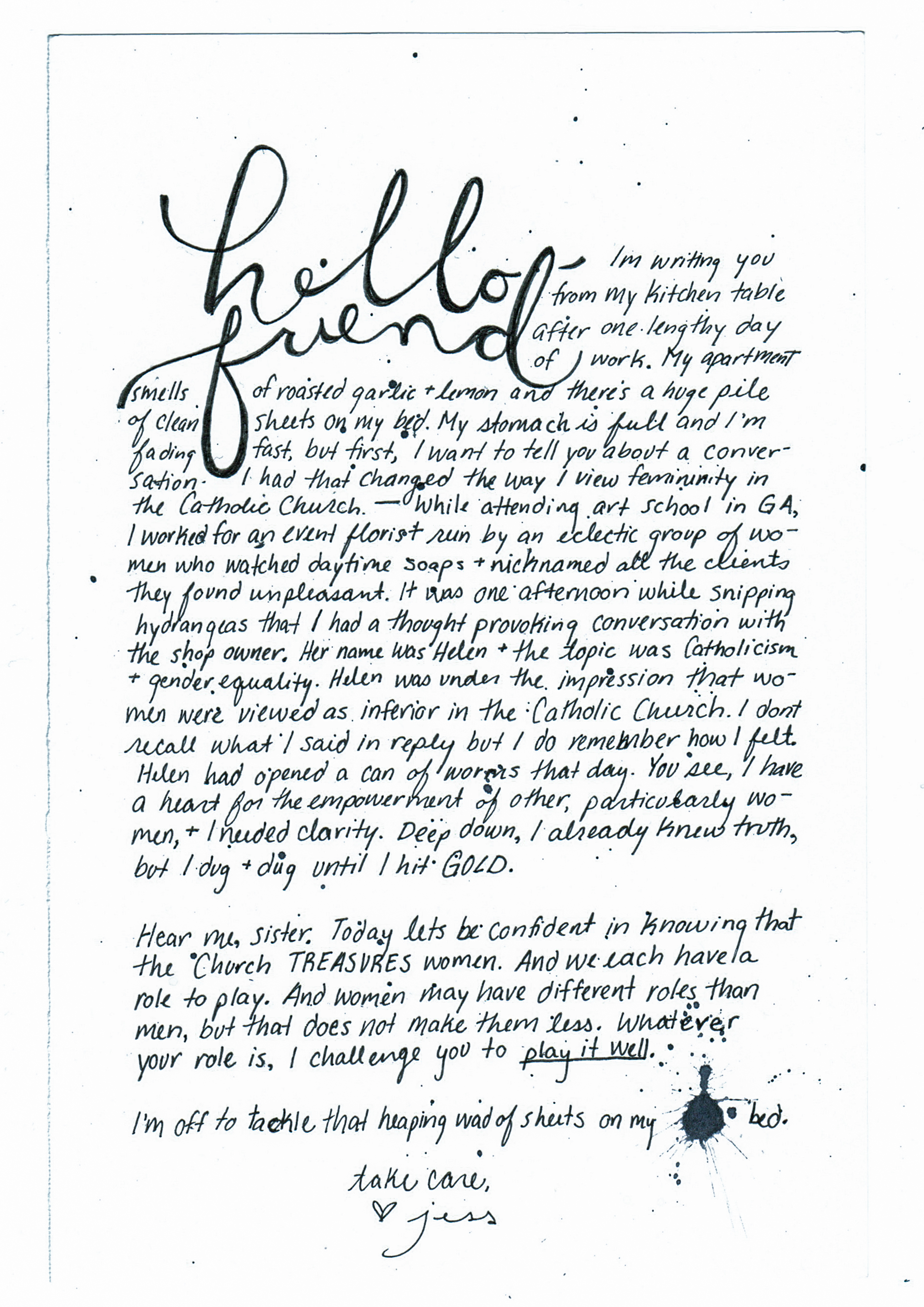 The-Catholic-Woman-Jessica-Amsberry-Letter