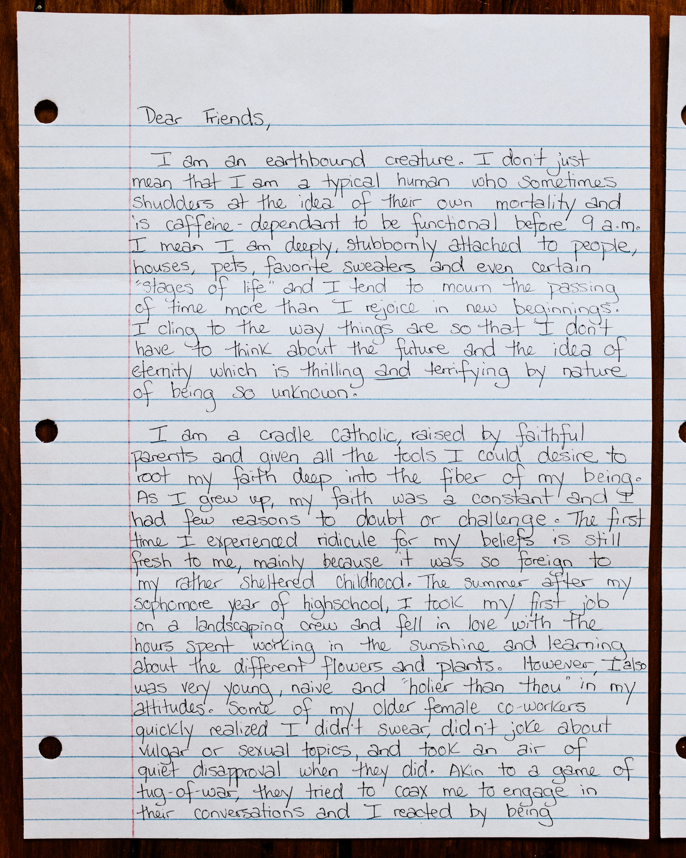 Maura Barnes The Catholic Woman Letter to Women 1