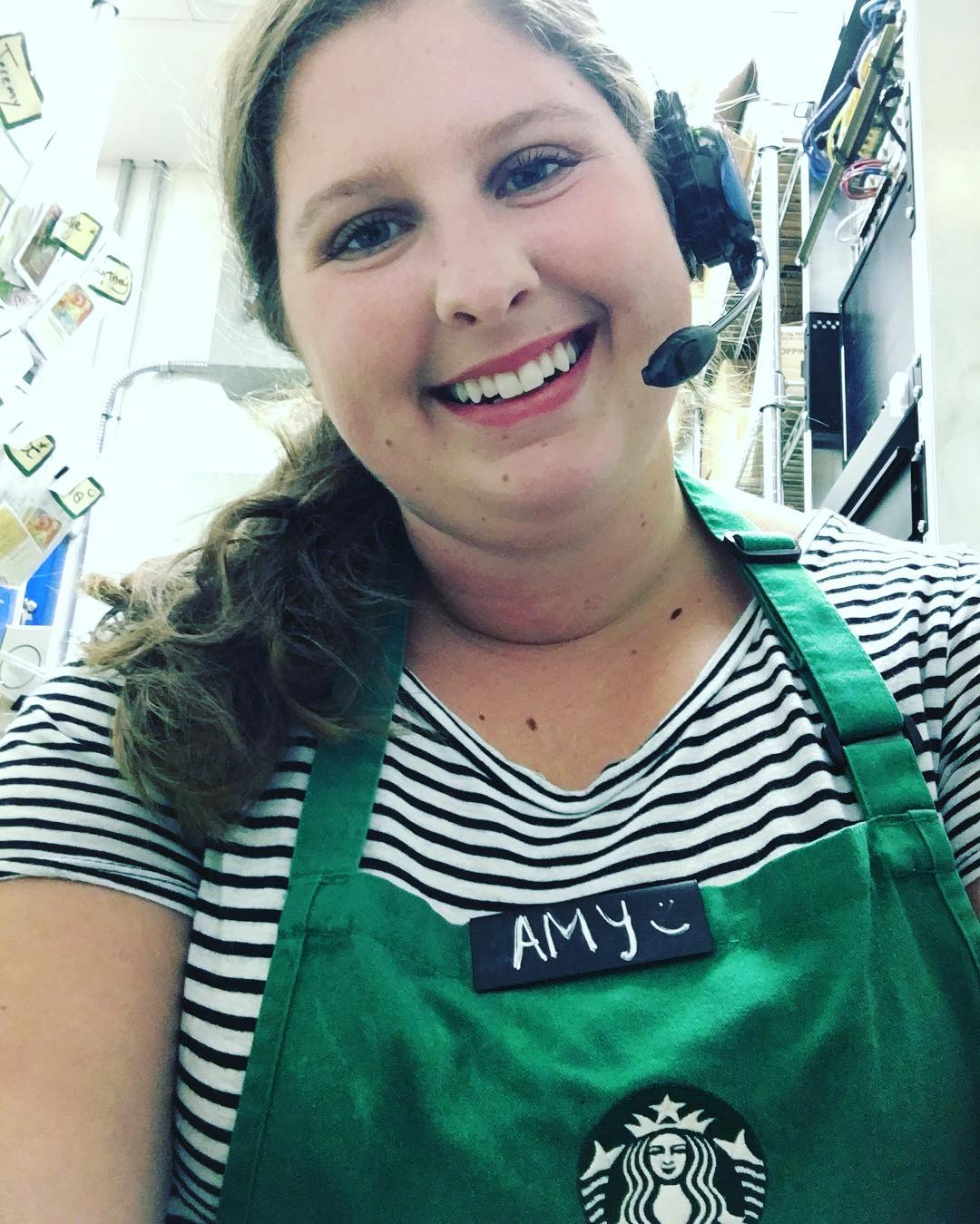 Amy Robertson Portrait Starbucks Barista
