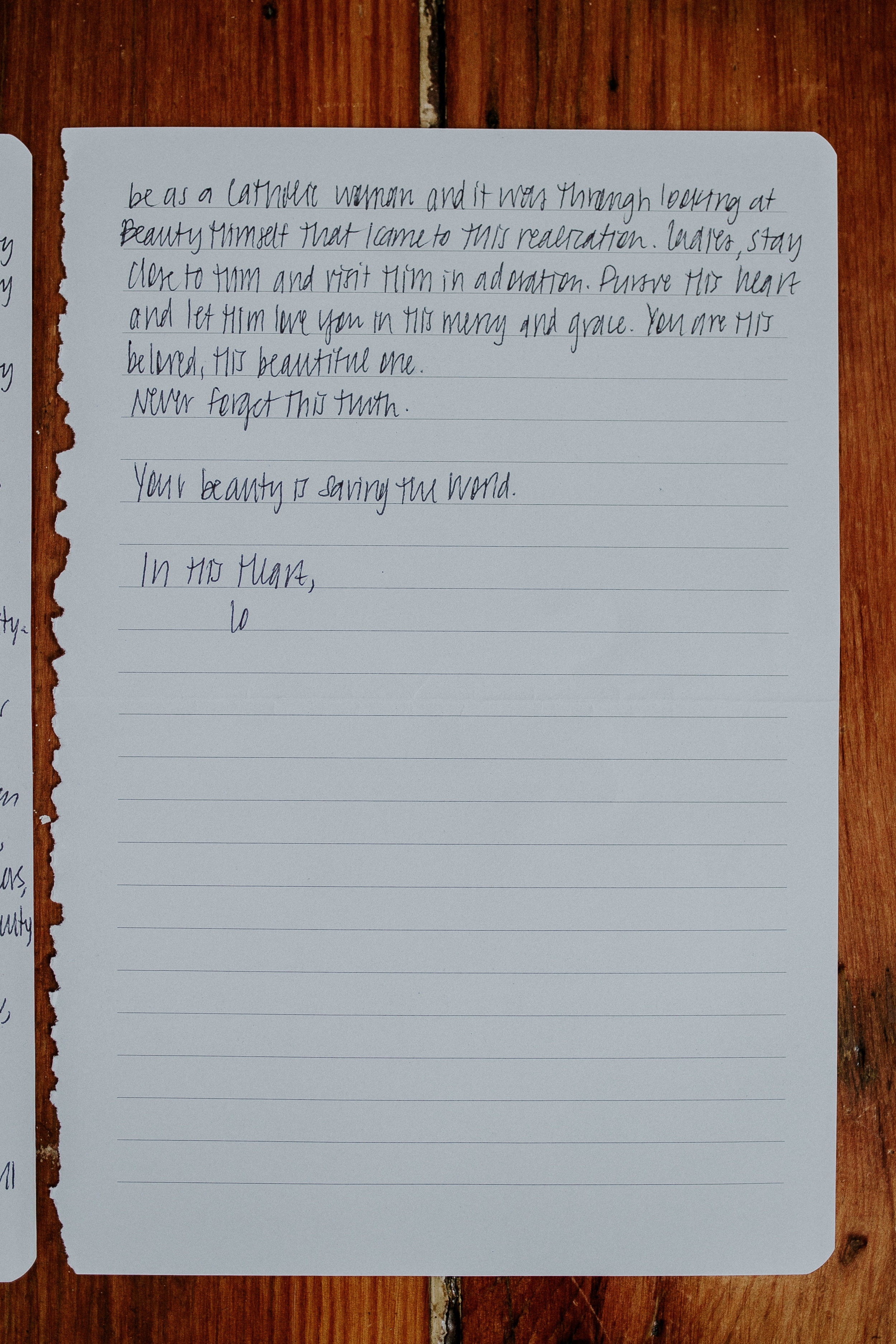 Lo schubilske Letter to Women The Catholic Woman