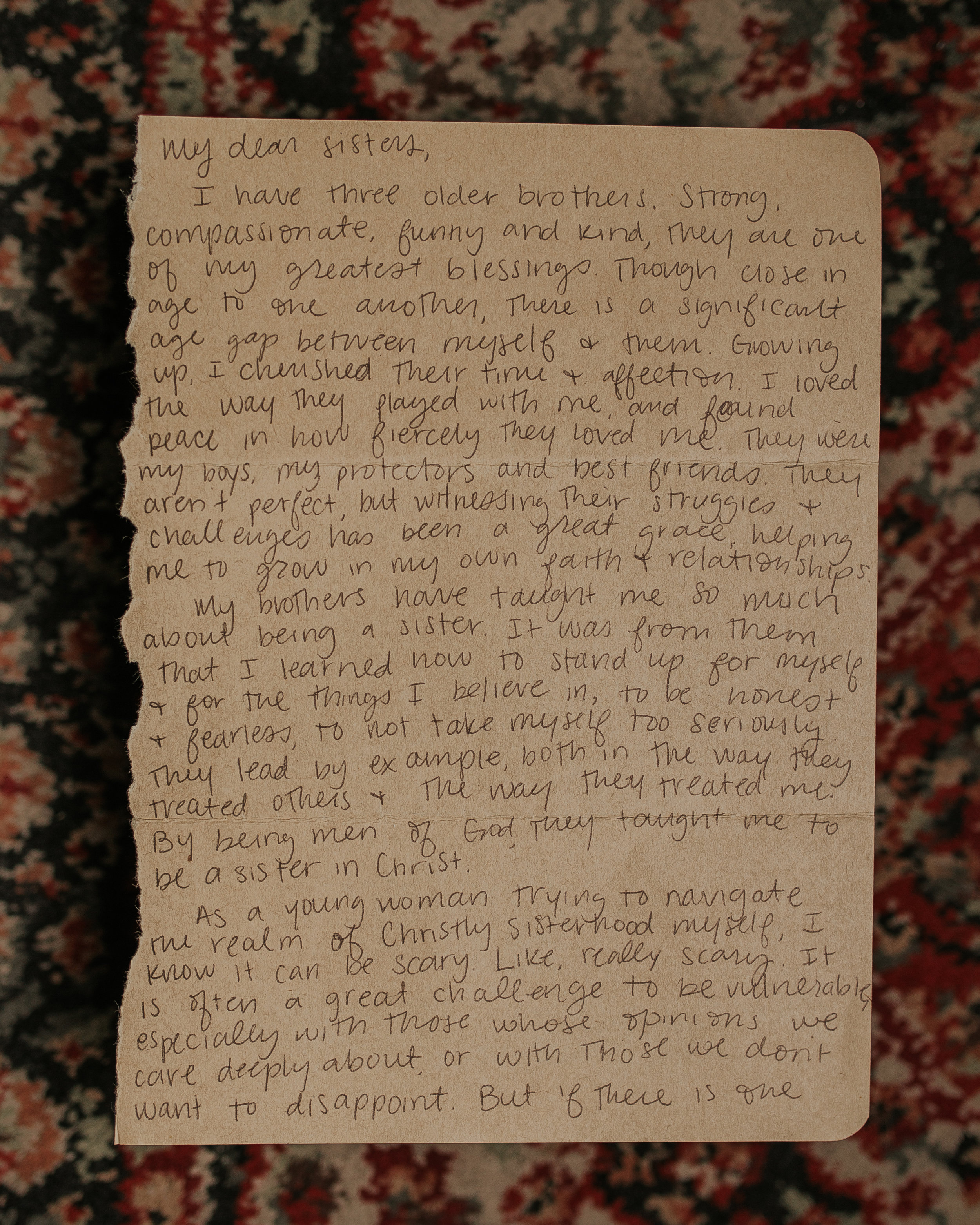 Sarah Malone Letter to Women the Catholic Woman 1