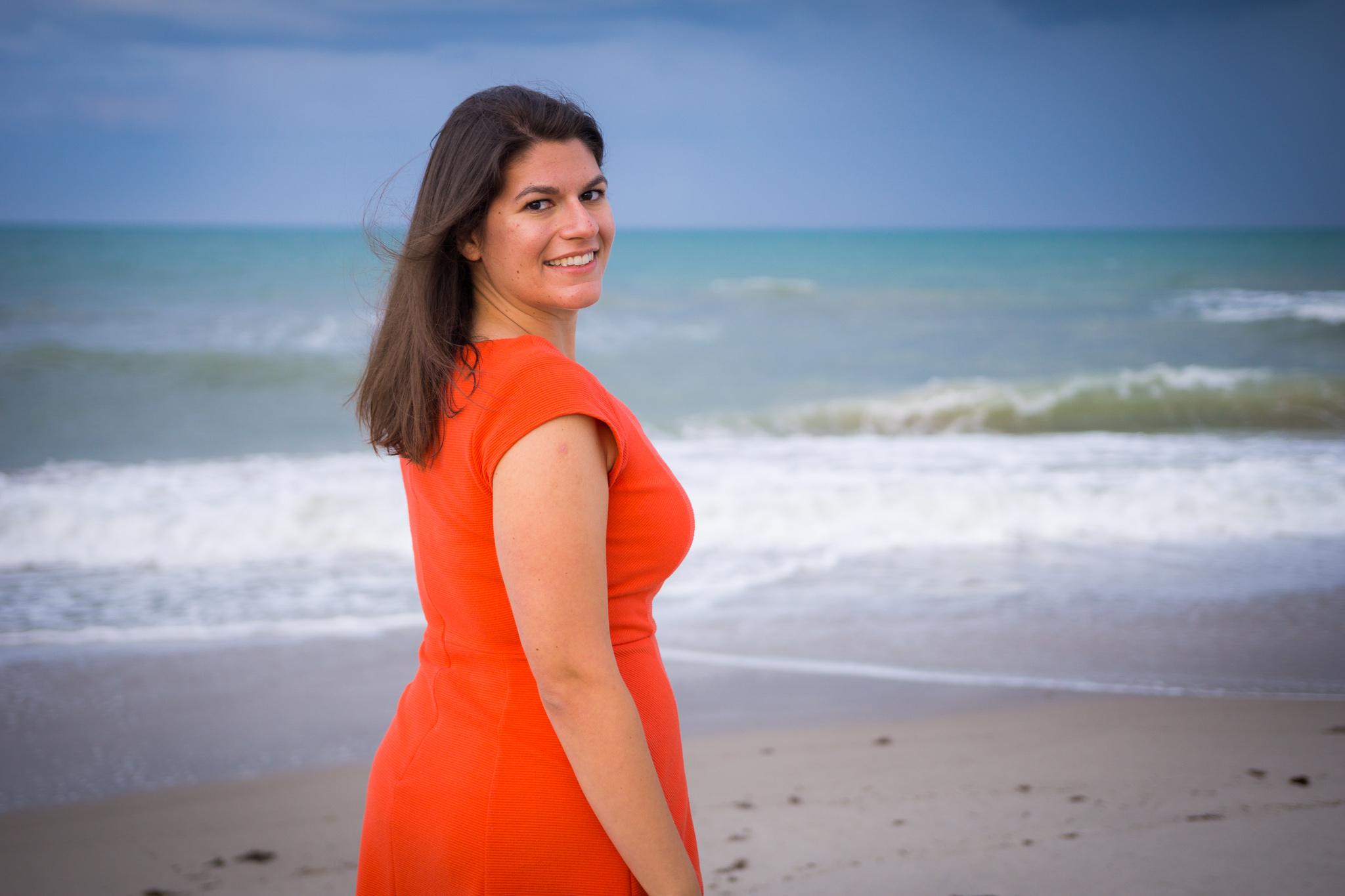 Mariana Flores The Catholic Woman Portrait