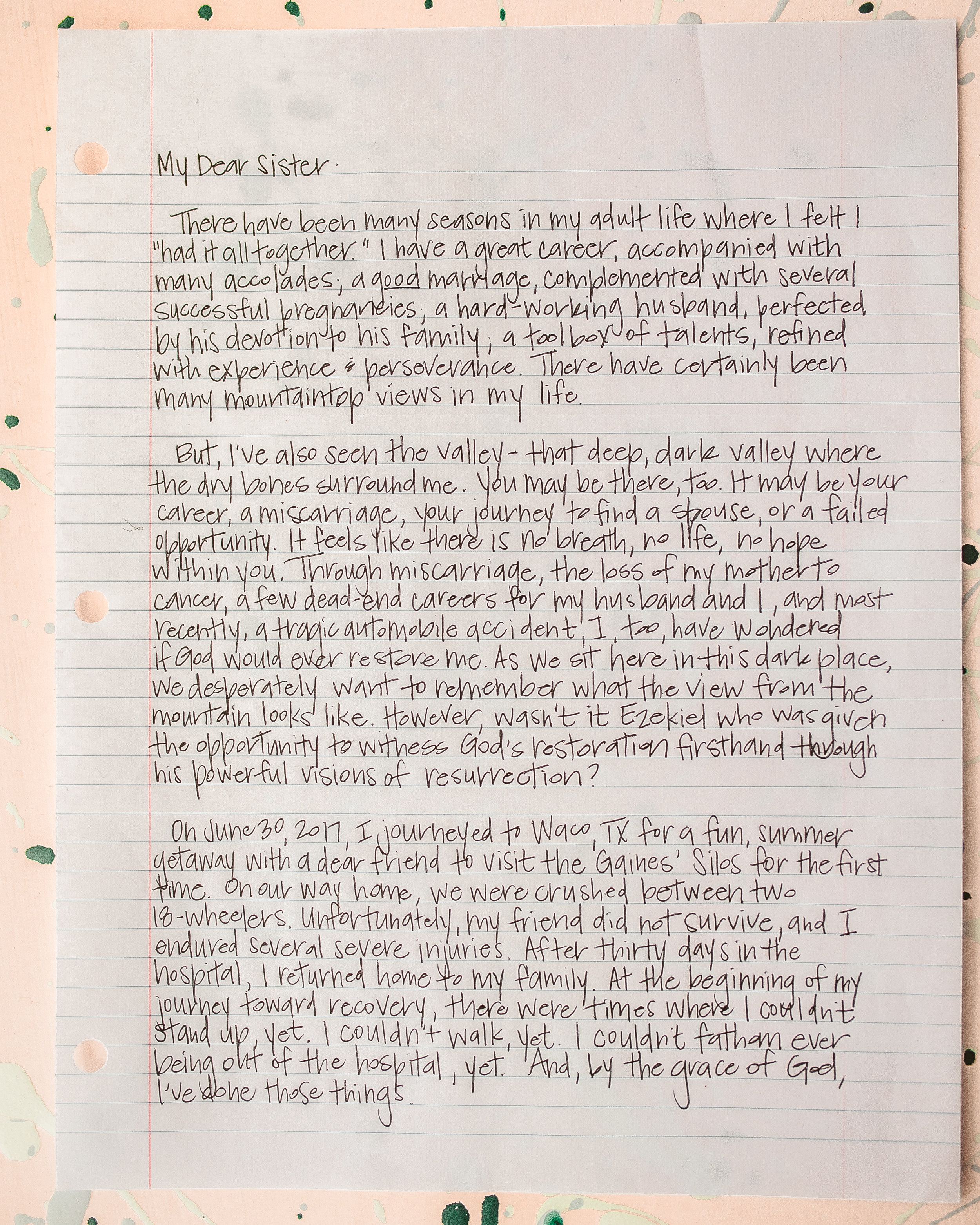 Erin Thomas Letter to Women 1