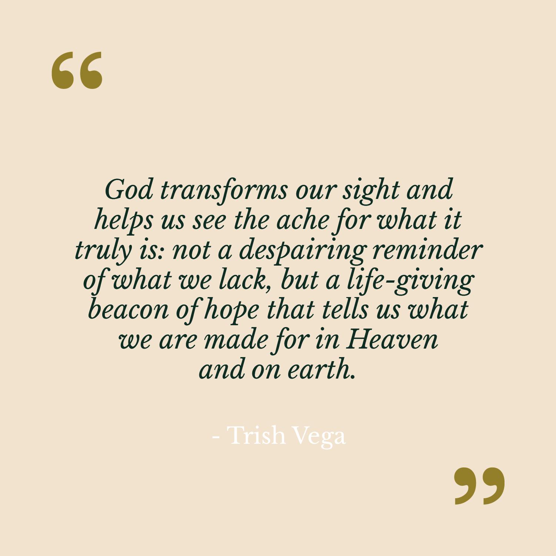 Trish Vega The Catholic Woman Quote