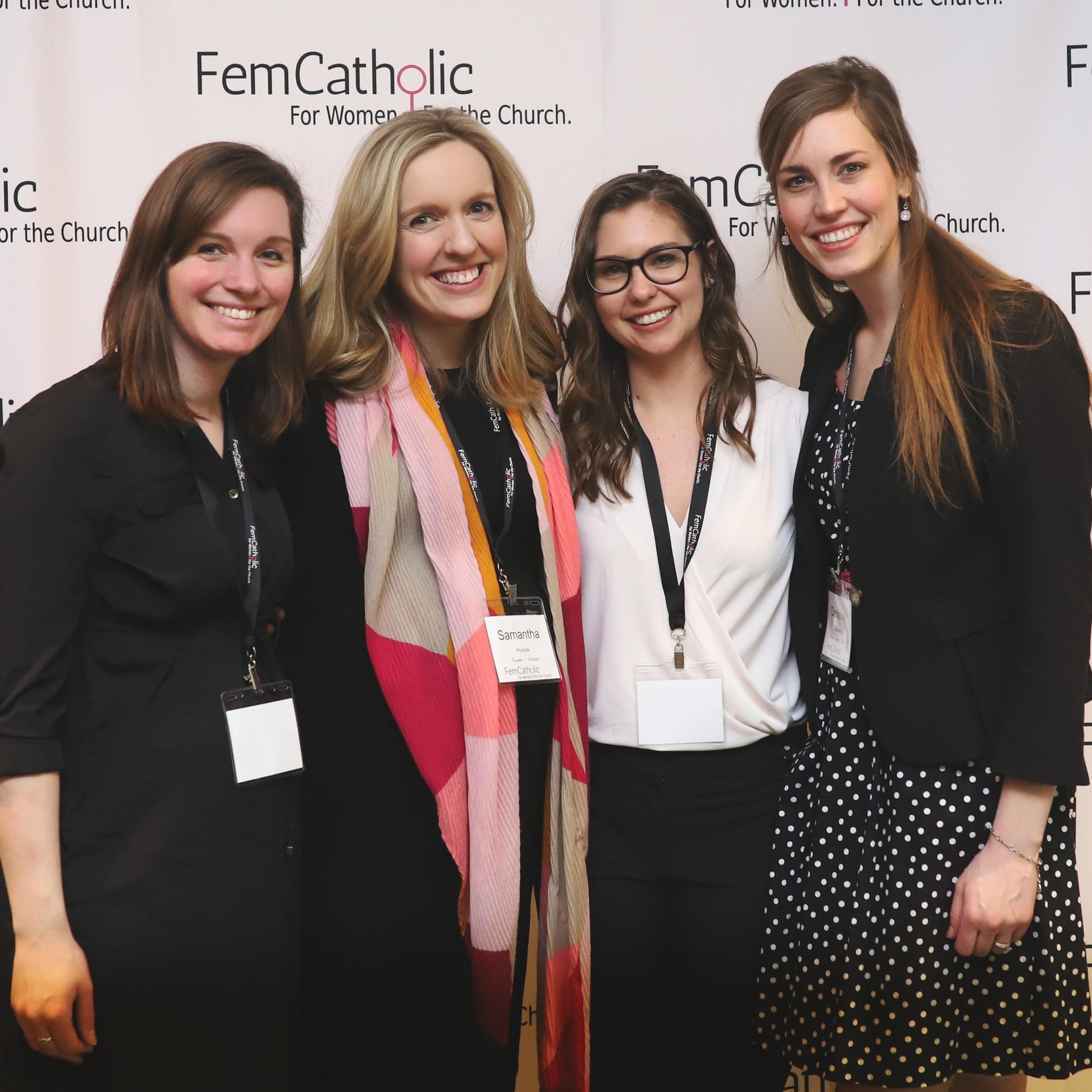 About Samantha - Samantha Povlock is the founder of FemCatholic, a platform working to reconcile feminism and Catholicism that hosted their first conference in March 2019. Sam is a corporate working mom of two, a Notre Dame grad, and transplant to Chicago.