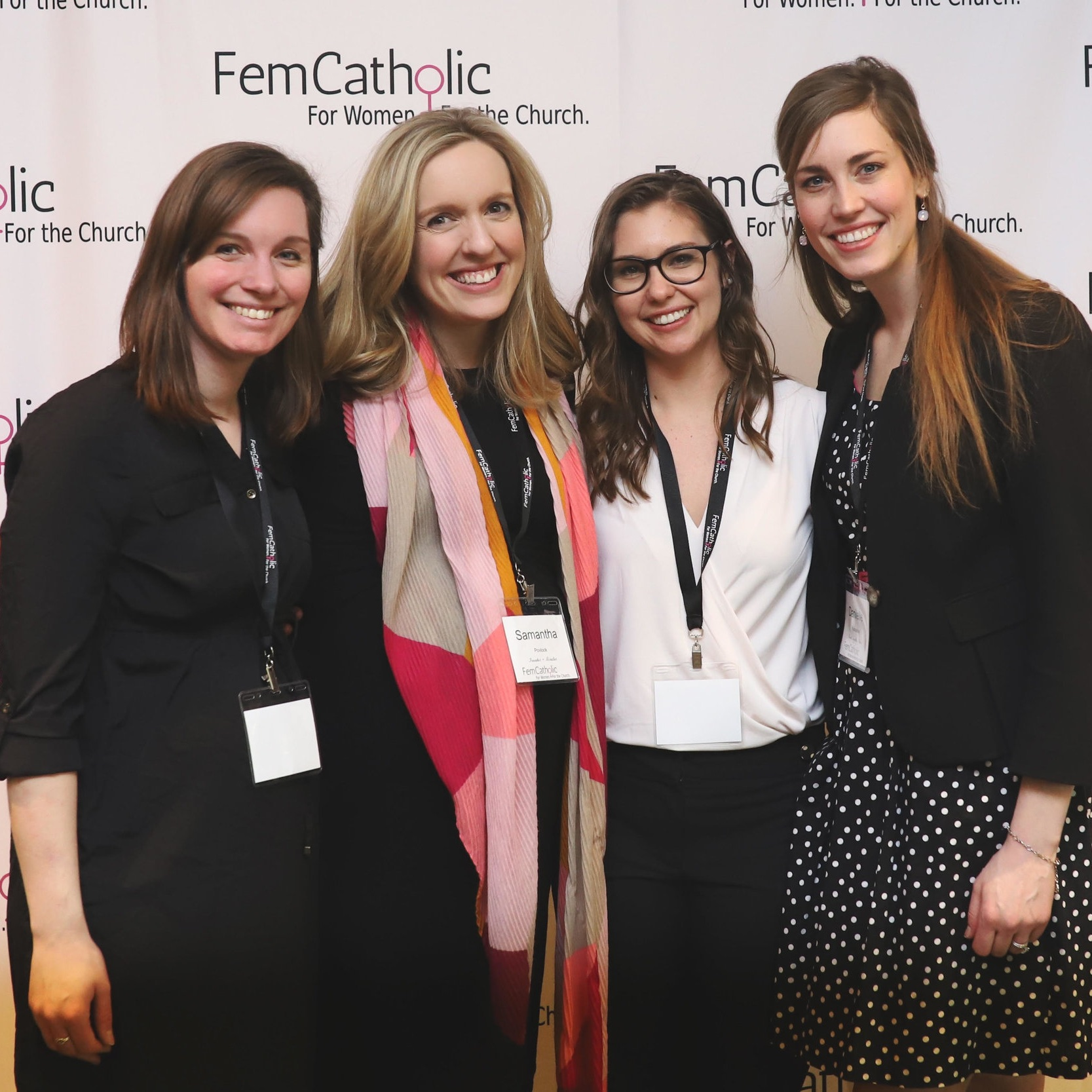 About Samantha - Samantha Povlock is the founder of FemCatholic, a platform working to reconcile feminism and Catholicism that hosted their first conference in March 2019. Sam is a corporate working mom of two, a Notre Dame grad, and transplant to Chicago.Read Samantha's letter on Catholic Feminism here.