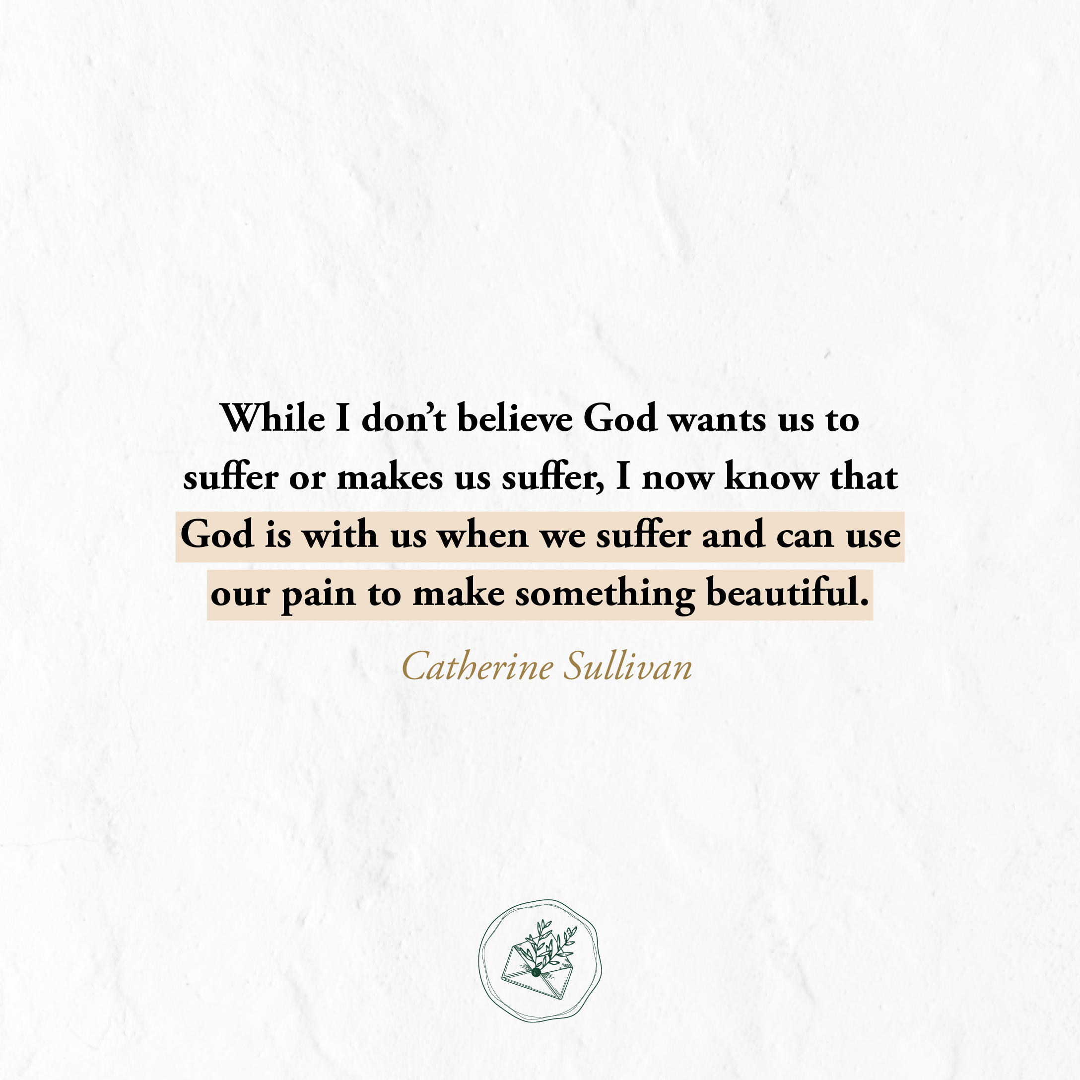 The Catholic Woman - Uniting the Pain of Endometriosis to
