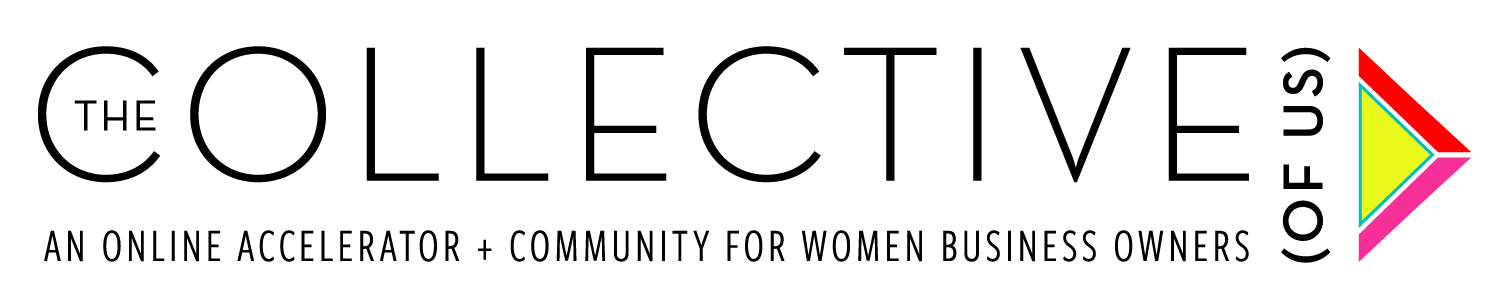 1 free month of membership to The Community (of Us) PLUS a 10% discount on membership to The Collective (of Us) - The Collective: a curated small business accelerator supporting diverse women in leading profitable BOLD businesses with equal parts strategy and wisdom.The Community: a year of deliberate coached conversations, real change and a diverse community of badass women, led by Cyndie Spiegel