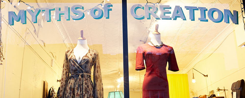 Myths of Creation - 15% off your in-store purchase - Myths of Creation is a shop dedicated to authenticity, empowerment, and connection. We offer apparel, accessories, and ritual tools as well as workshops, sliding scale reiki and the wares of local designers.