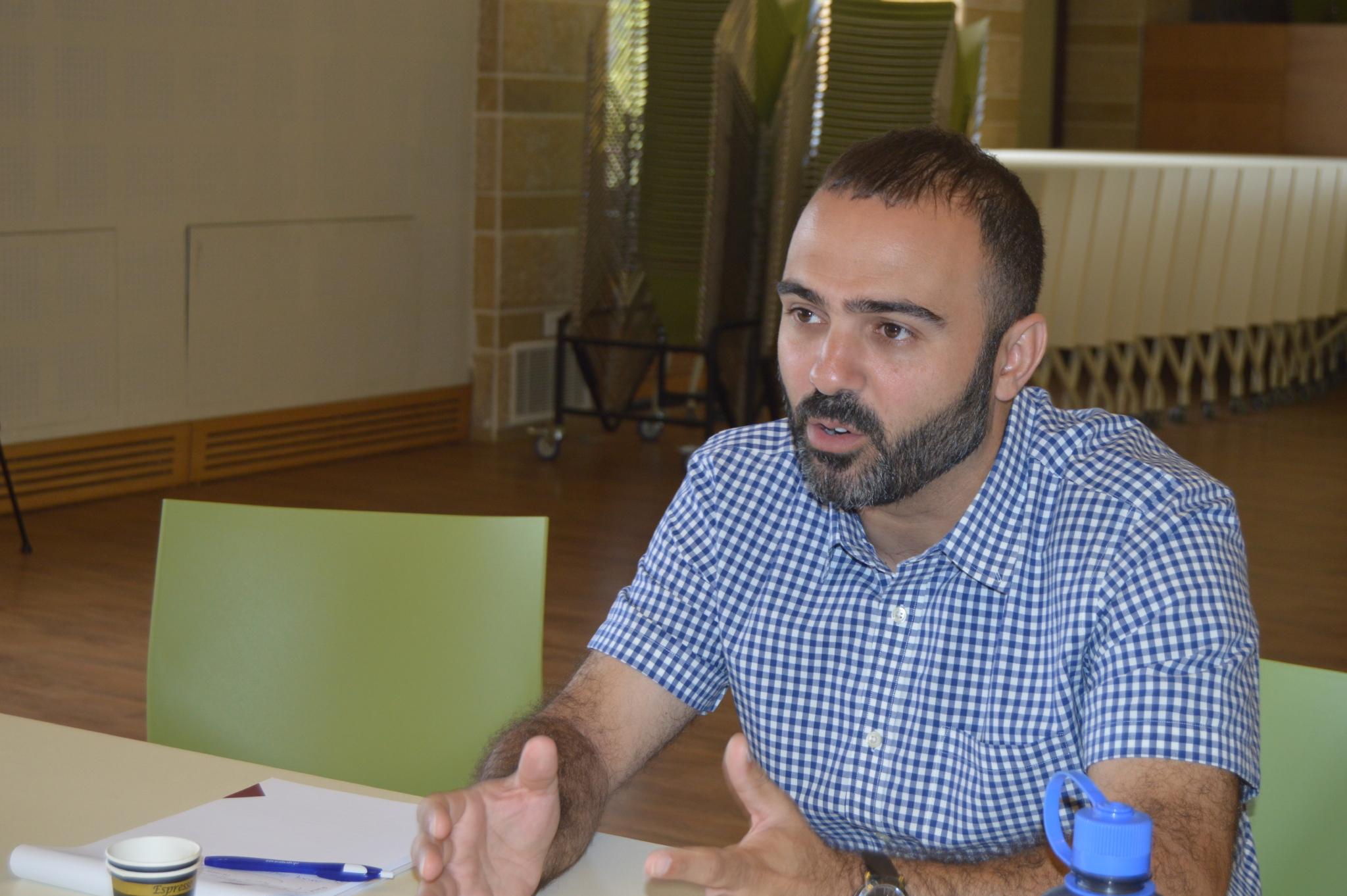 Samer Abboud, 2017 ACSS Summer Institute.