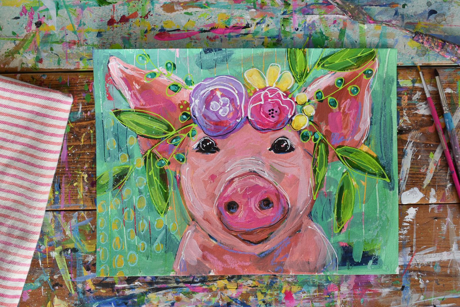boho_pig_flowercrown_painting_4.jpg