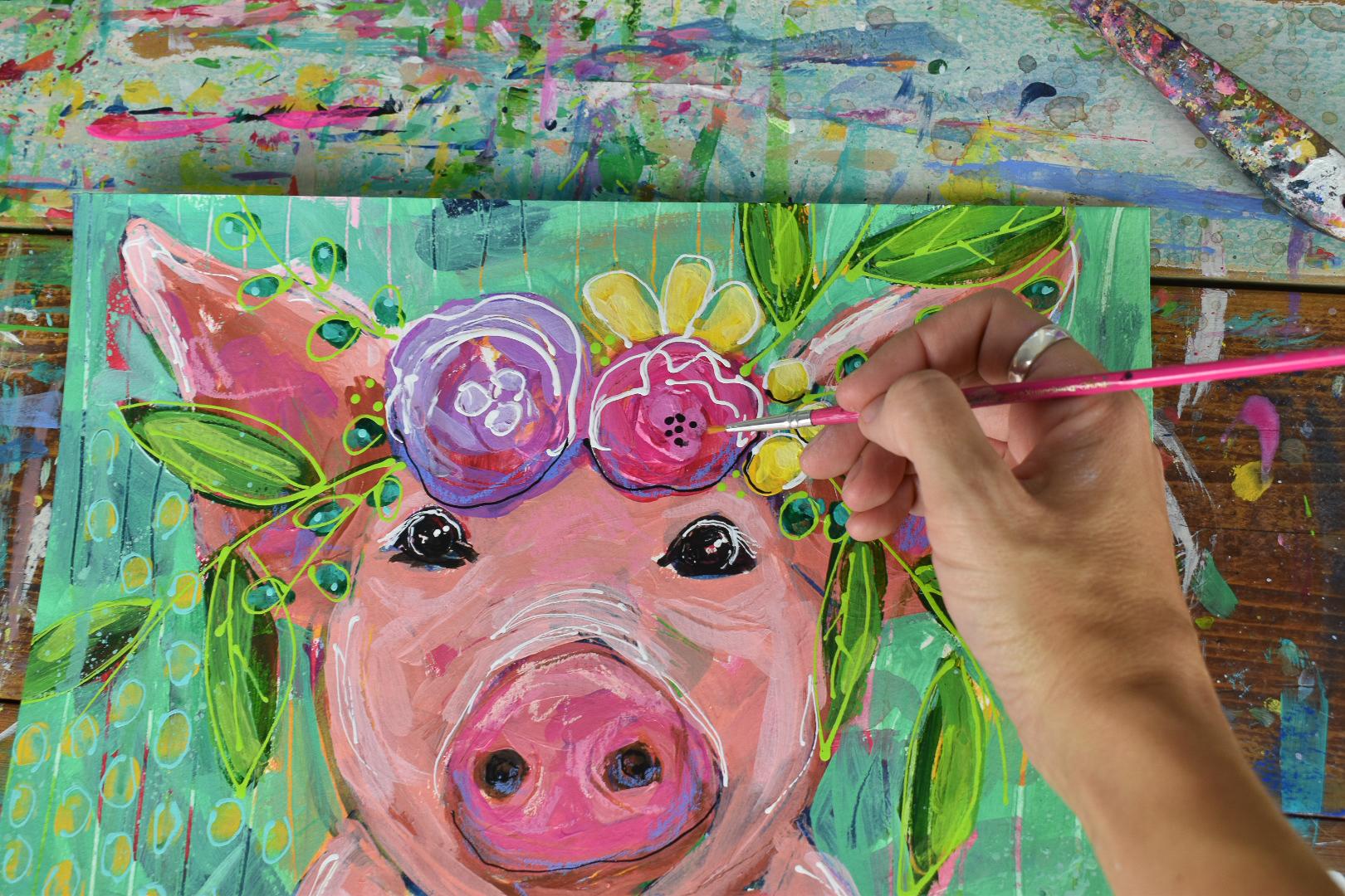 boho_pig_flowercrown_painting_5.jpg