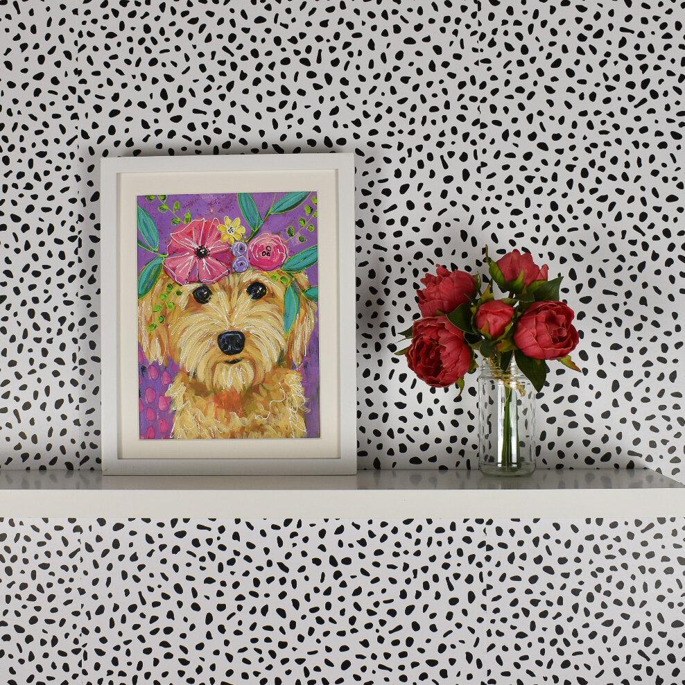 goldendoodle_petportrait_boho_flowercrown_daisyfaithart_2.jpg