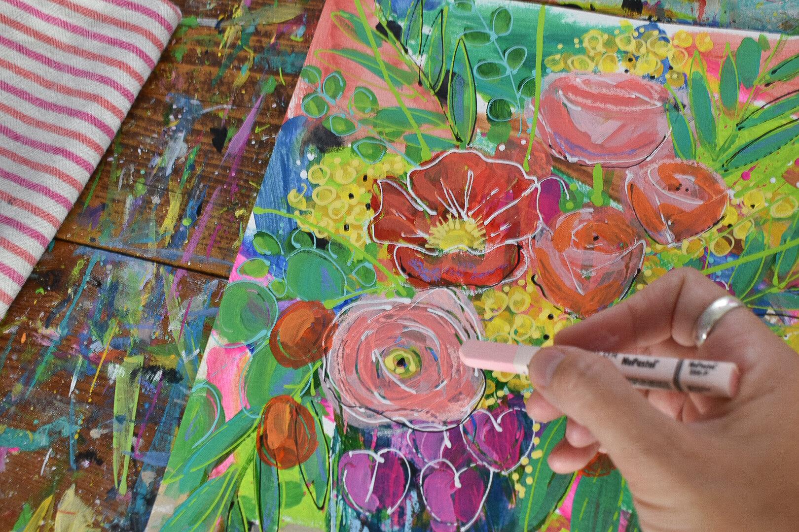 boho_flowers_painting_eclectic_tropical_daisyfaithart_5.jpg