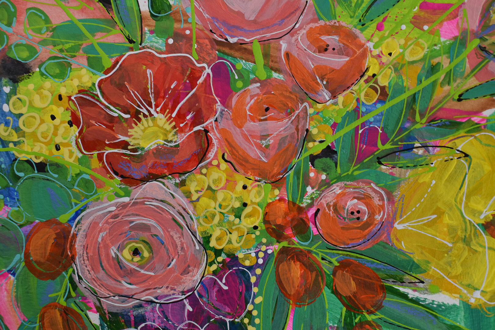 boho_flowers_painting_eclectic_tropical_daisyfaithart_6.jpg