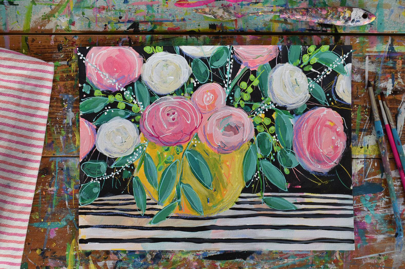 boho_eclectic_painting_art_stripes_daisyfaithart_pink_4.jpg