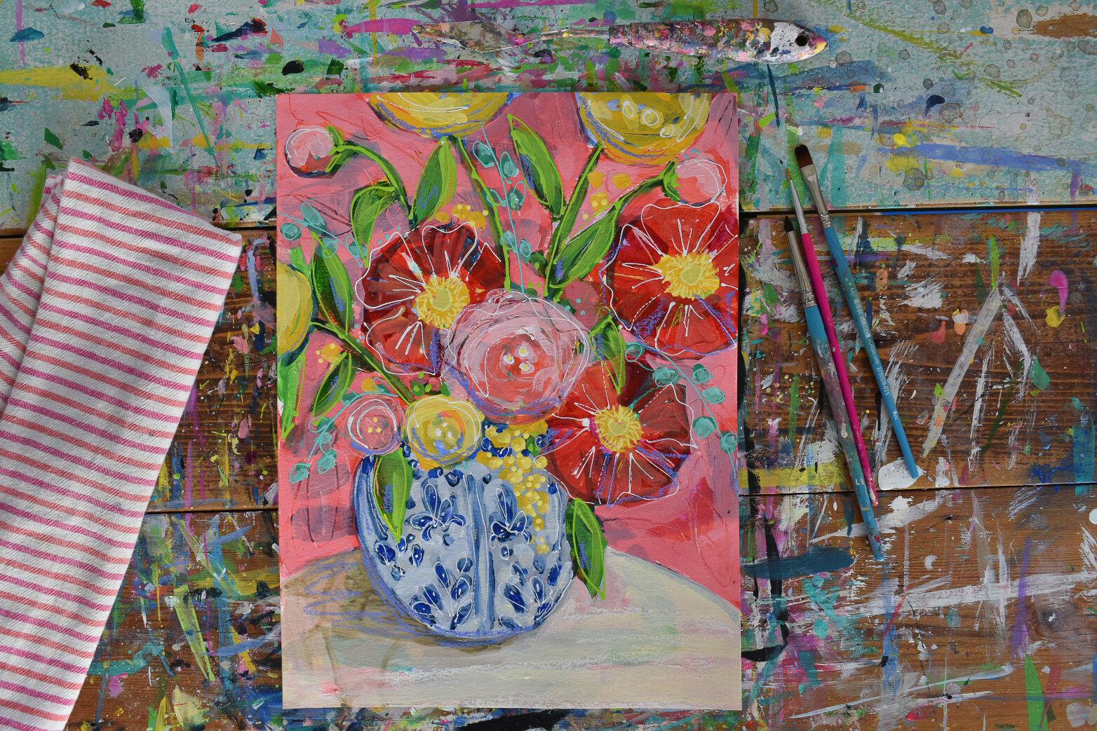 boho_flowers_painting_eclectic_art_chinoserie_daisyfaithart_4.jpg