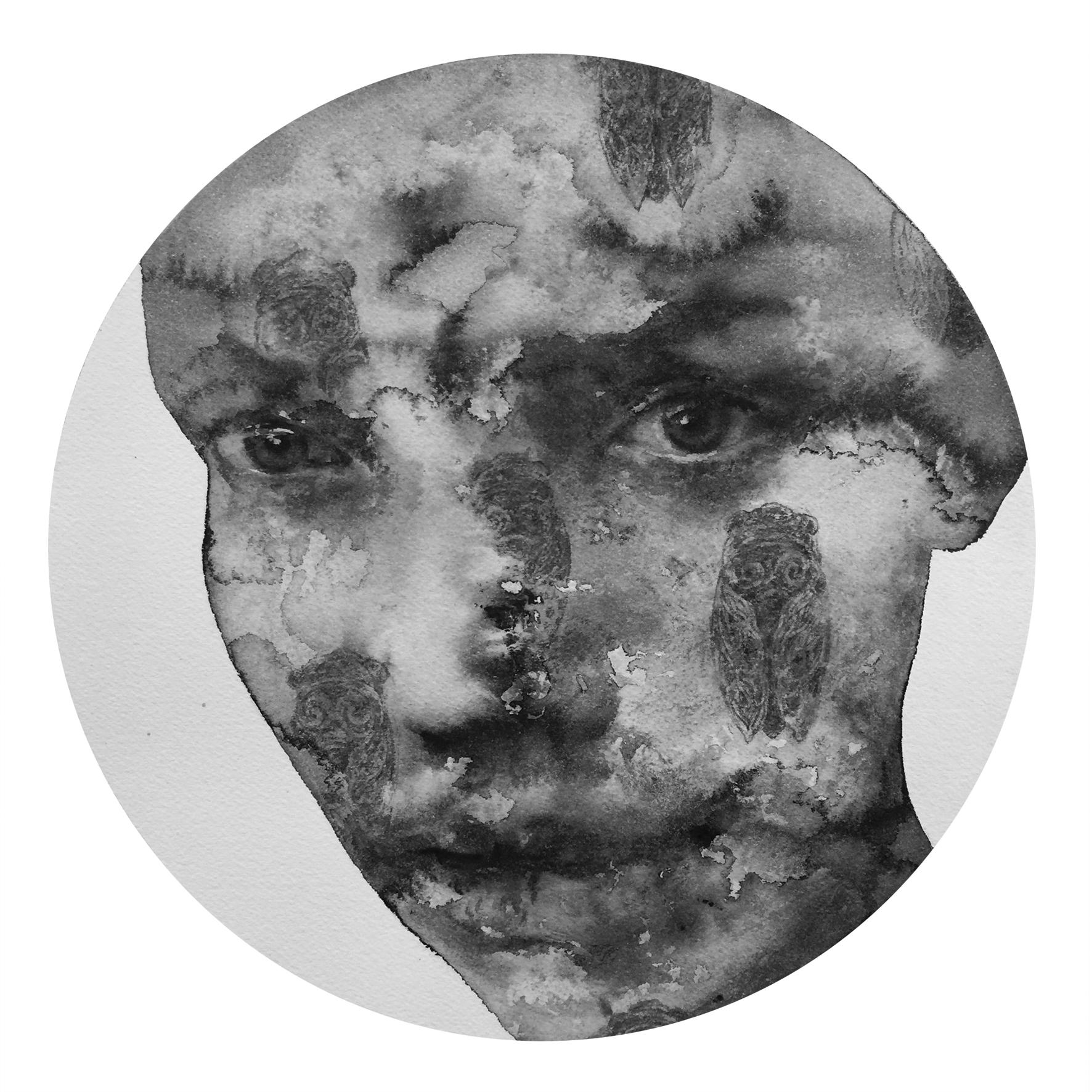Reflection #8 (Contemporary Chinese Artist Shanlin Ye at Jim Kempner Fine Art)
