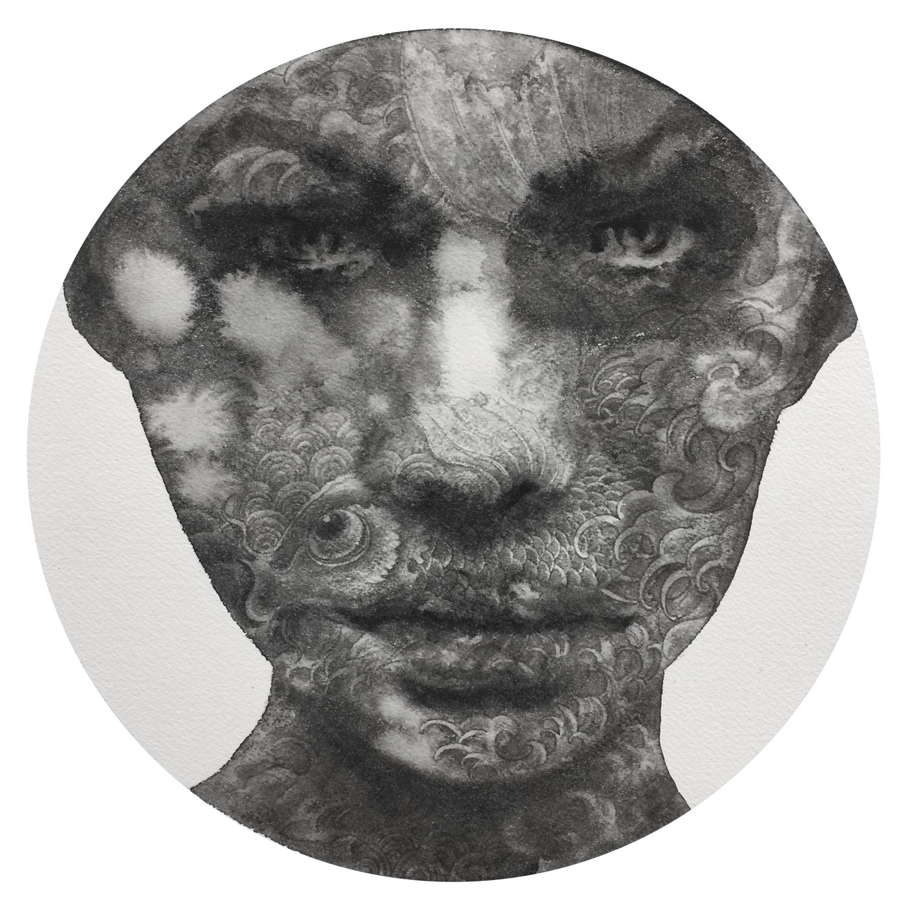 Reflection #9 (Contemporary Chinese Artist Shanlin Ye at Jim Kempner Fine Art)
