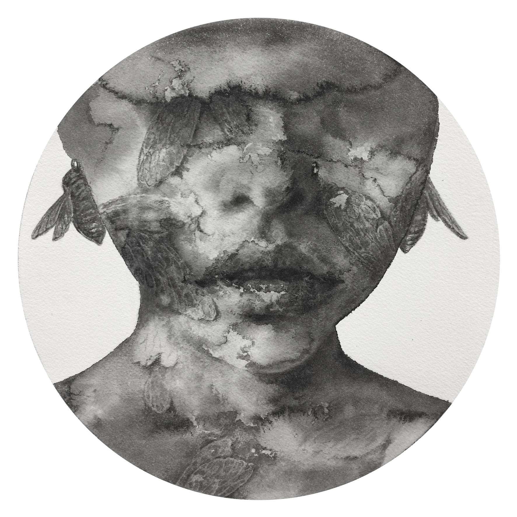 Reflection #11 (Contemporary Chinese Artist Shanlin Ye at Jim Kempner Fine Art)