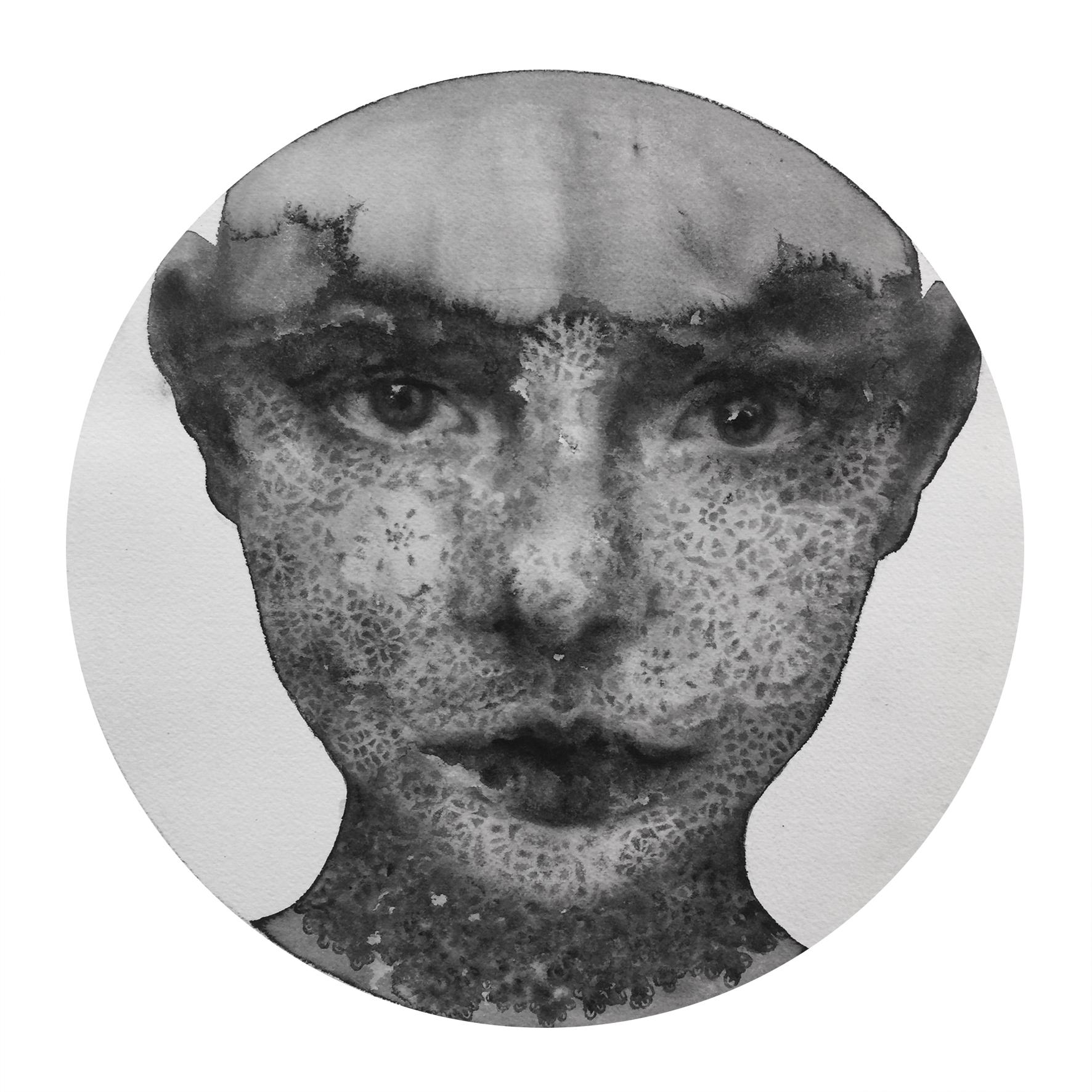 Reflection #27 (Contemporary Chinese Artist Shanlin Ye at Jim Kempner Fine Art)