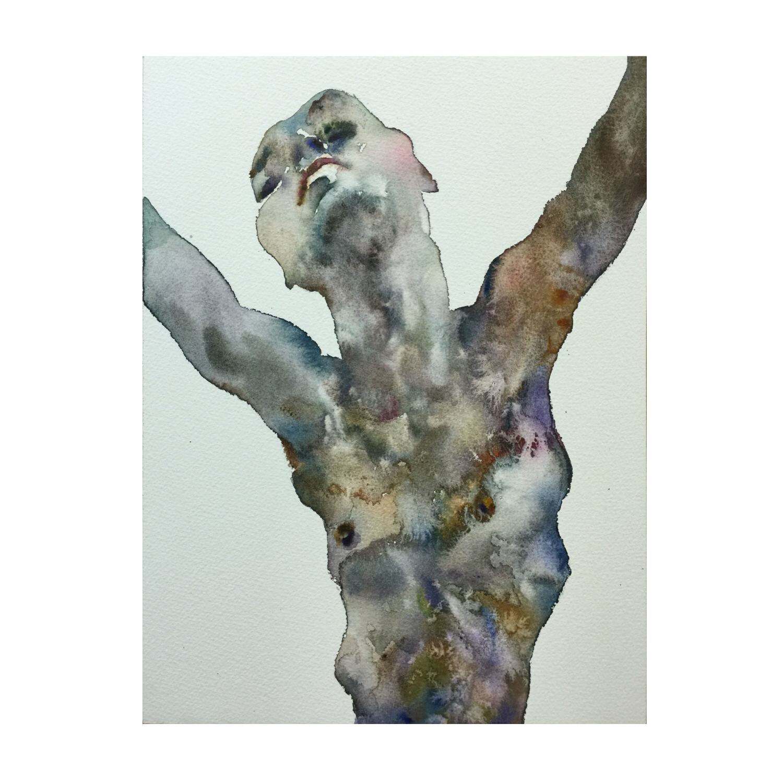 Figure #3 (Contemporary Chinese Artist Shanlin Ye at Jim Kempner Fine Art)
