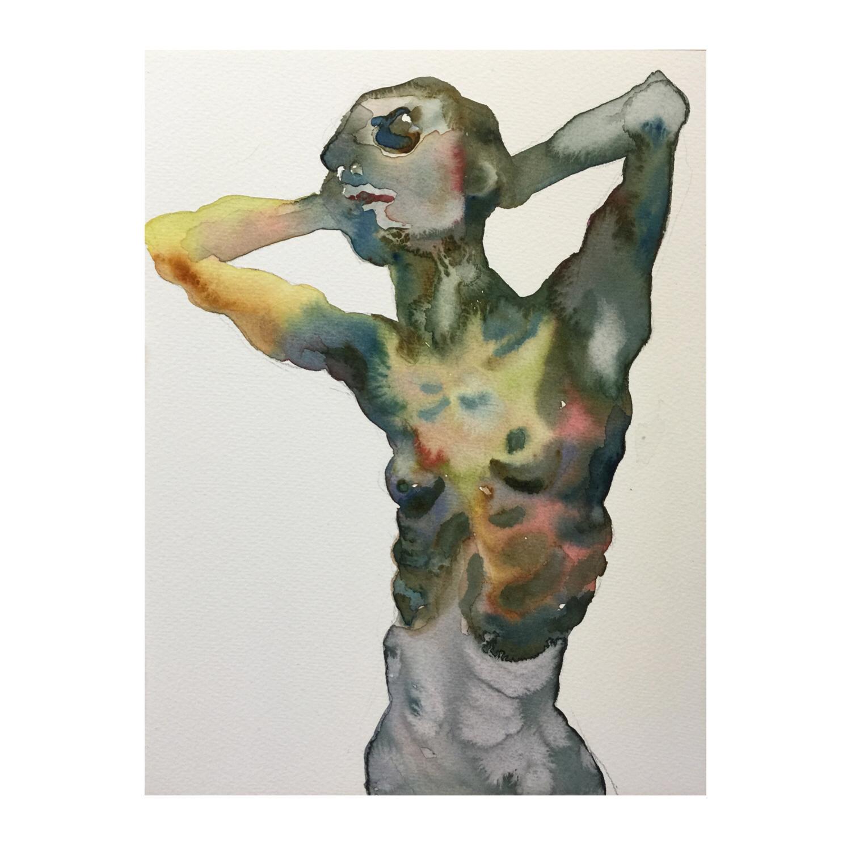 Figure #8  (Contemporary Chinese Artist Shanlin Ye at Jim Kempner Fine Art)