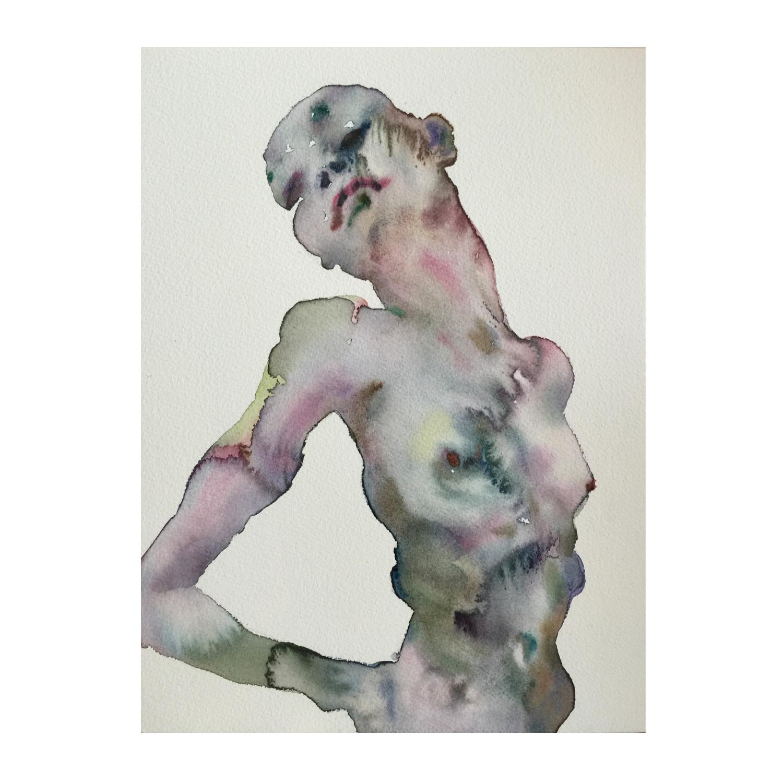 Figure #5  (Contemporary Chinese Artist Shanlin Ye at Jim Kempner Fine Art)