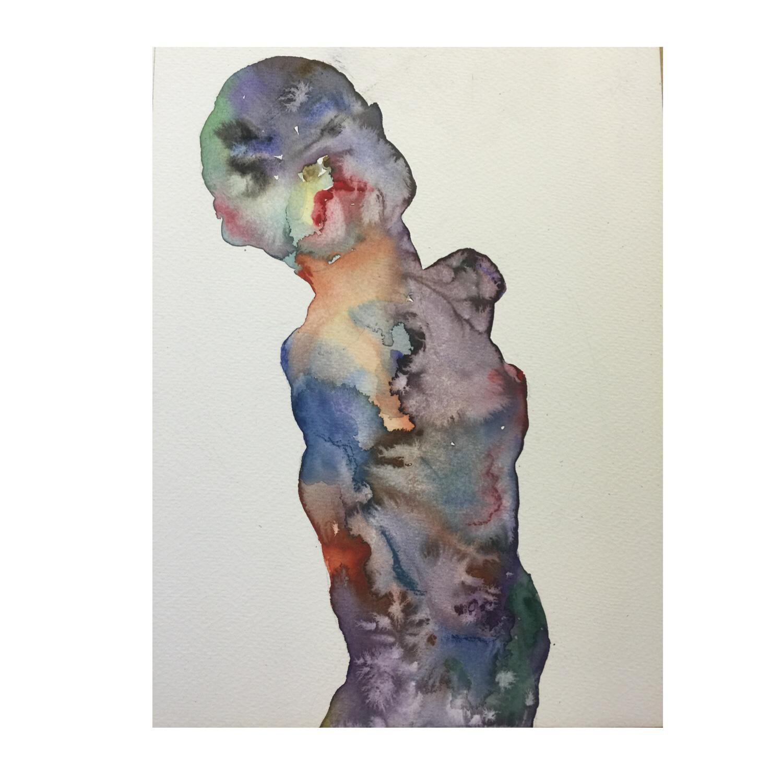 Figure #1 (Contemporary Chinese Artist Shanlin Ye at Jim Kempner Fine Art)