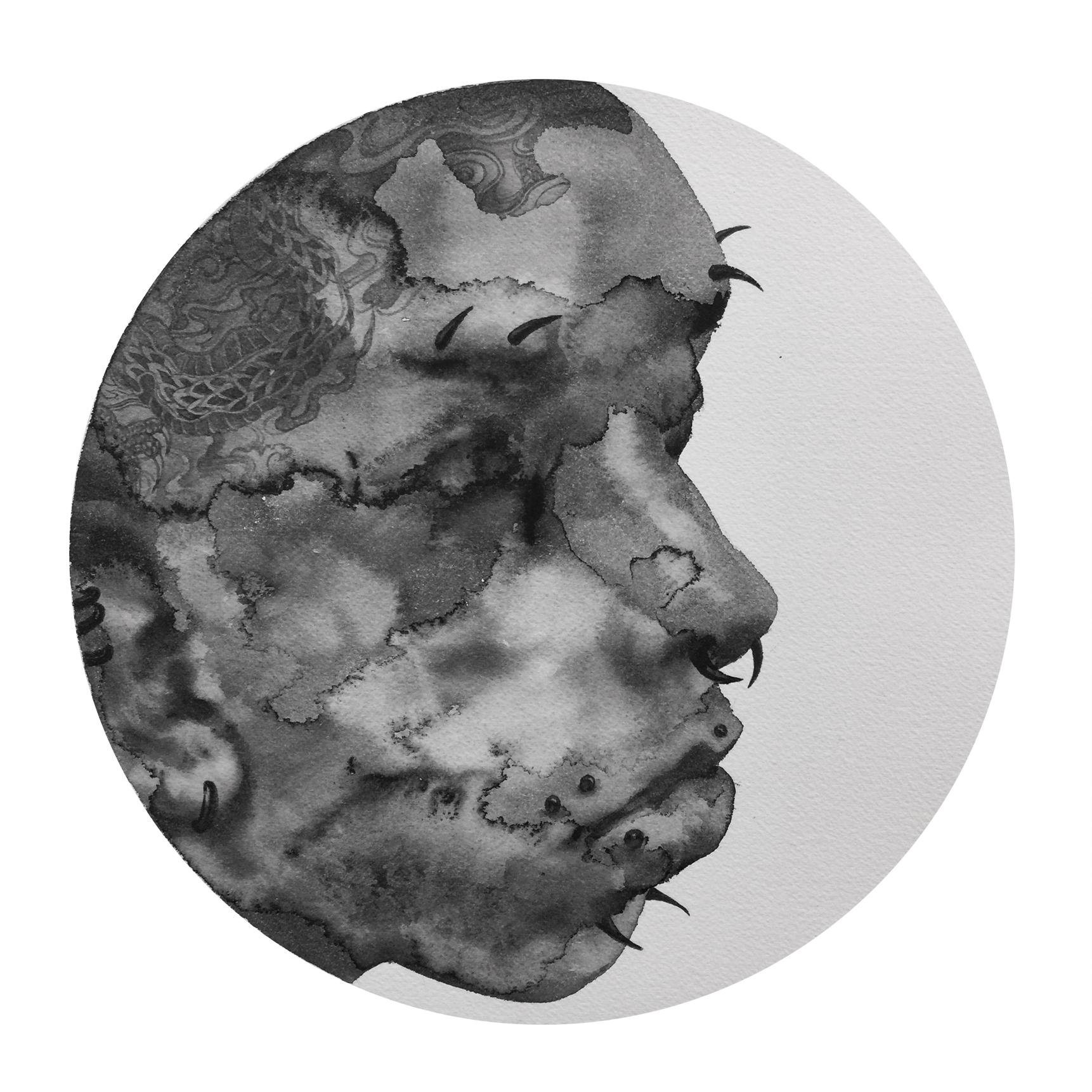 Reflection #2 (Contemporary Artist Shanlin Ye at Jim Kempner Fine Art)