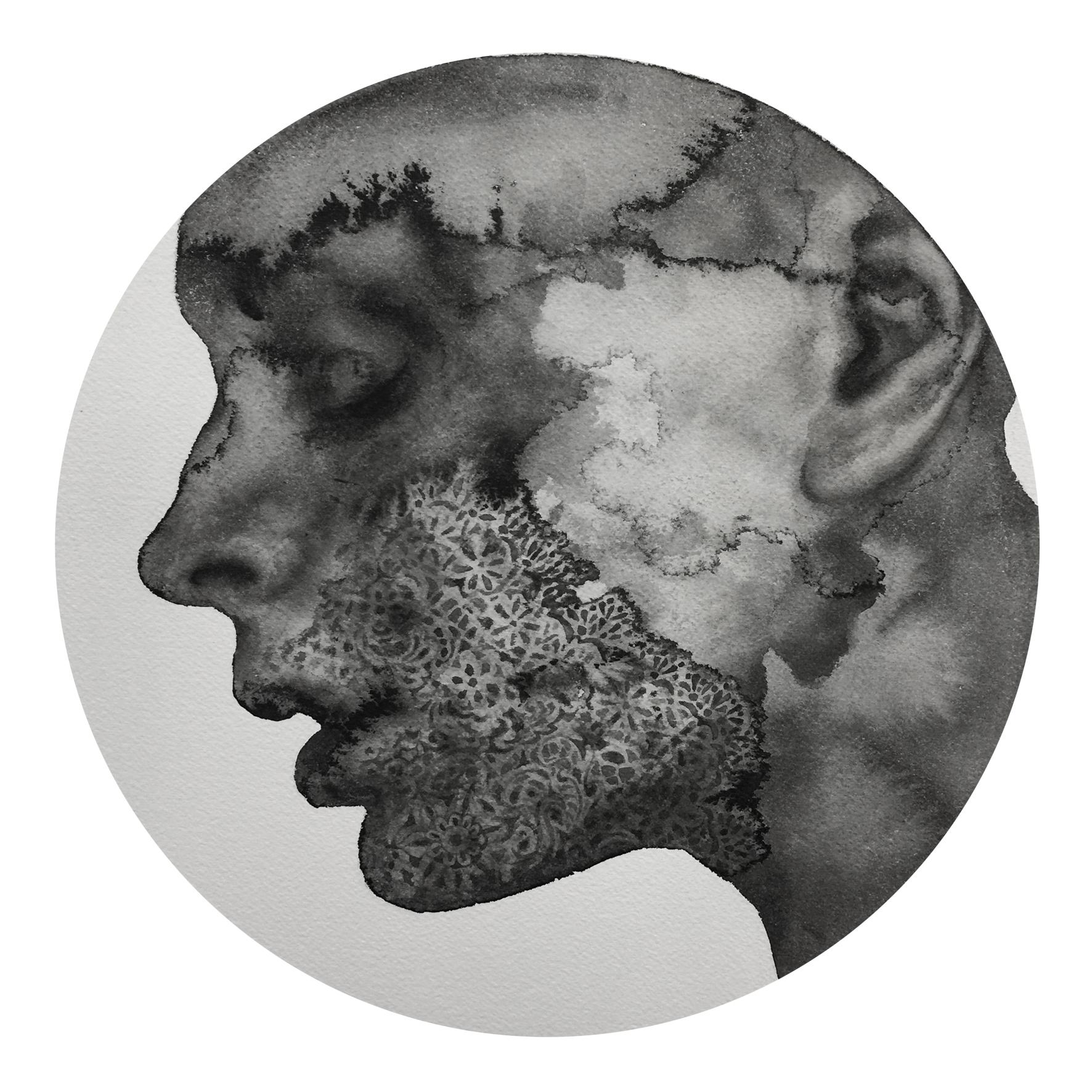 Reflection #6 (Contemporary Chinese Artist Shanlin Ye at Jim Kempner Fine Art)