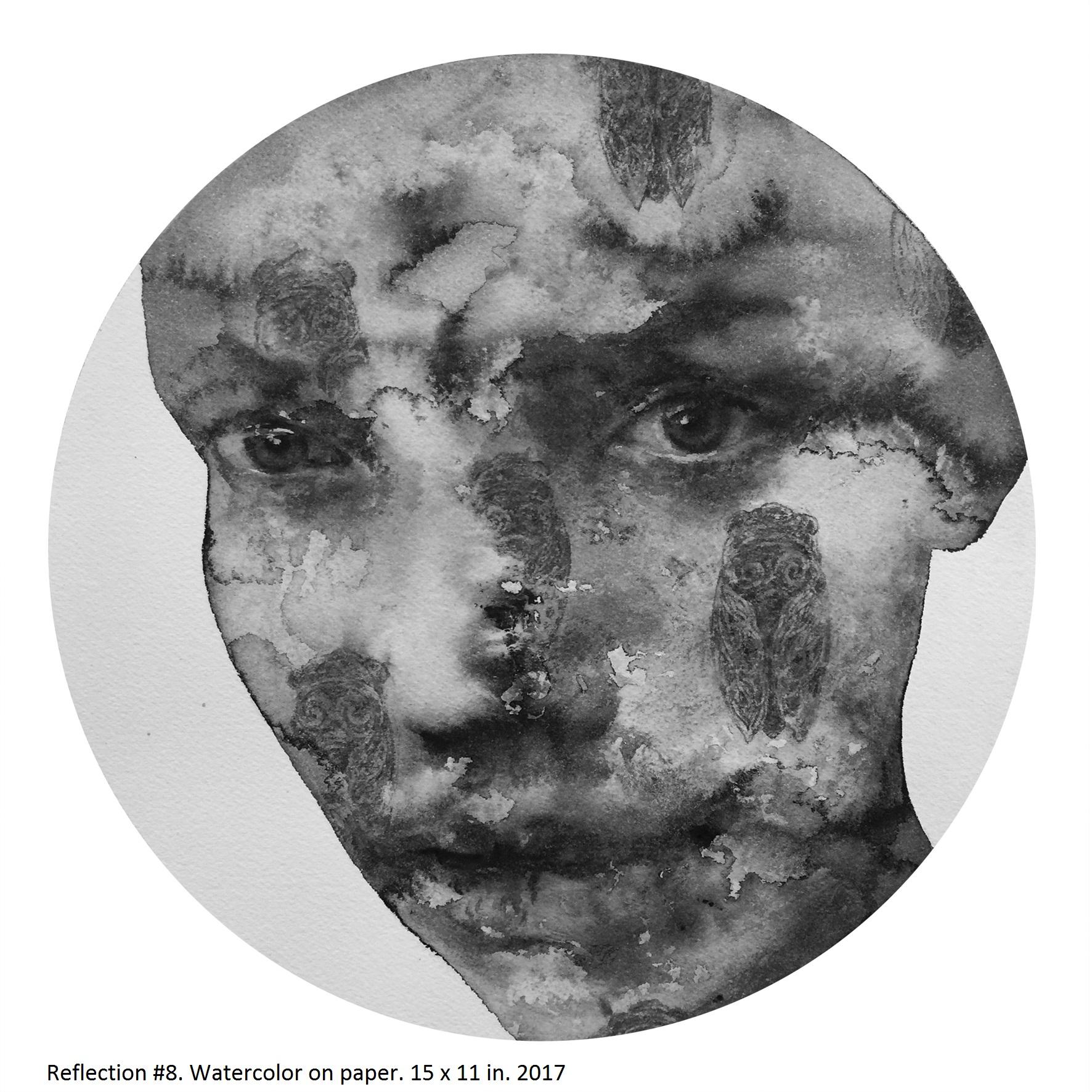 Reflection #8 (Shanlin Ye Artist at Jim Kempner Fine Art)