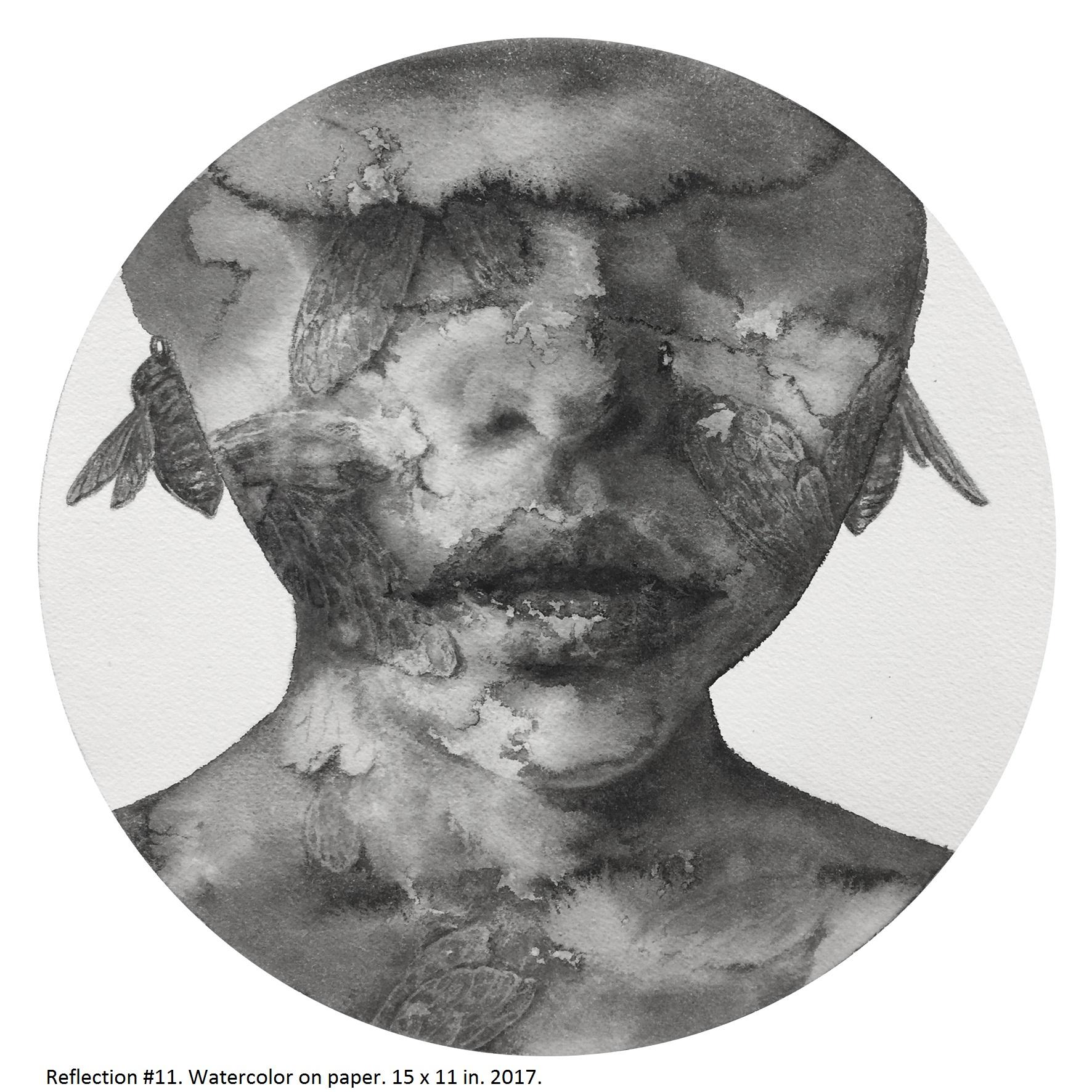 Reflection #1 (Shanlin Ye Artist at Jim Kempner Fine Art)