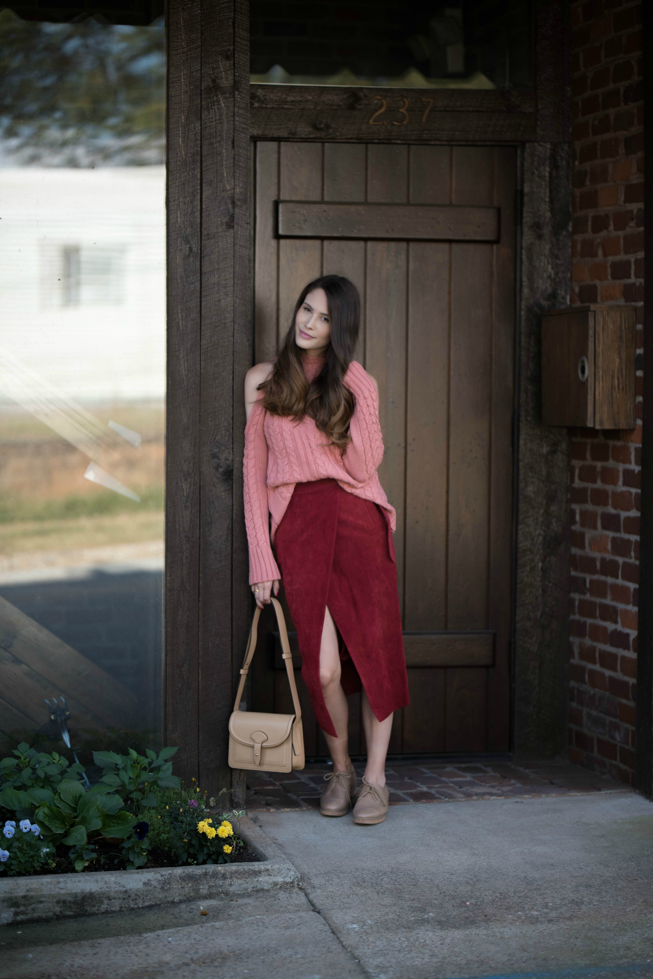 Trendy Fashion Blog | Hues of Pink and Red with Venus.com