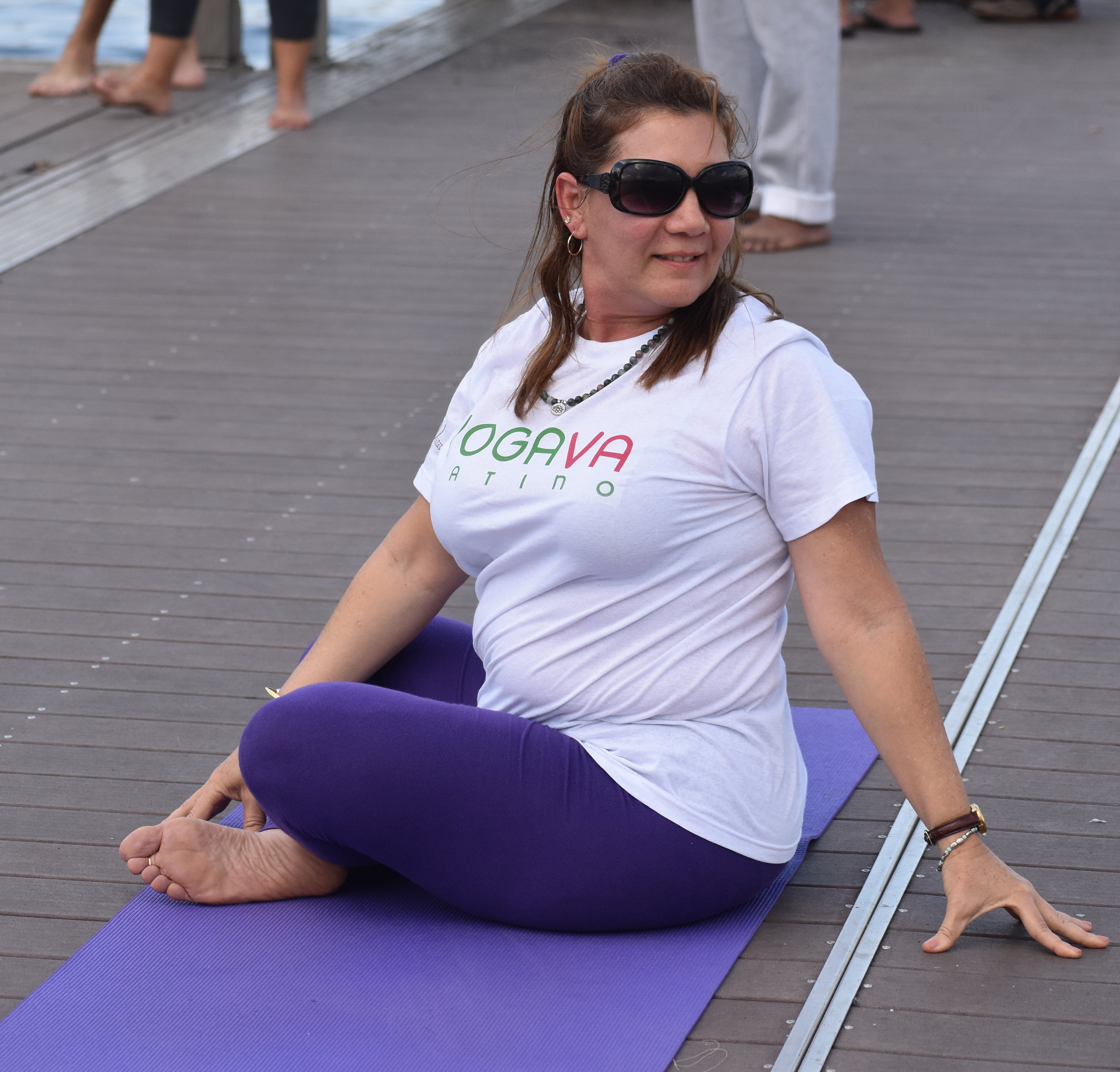 Mariela Góngora                                                 ERYT500 Yoga Alliance Certified Teacher