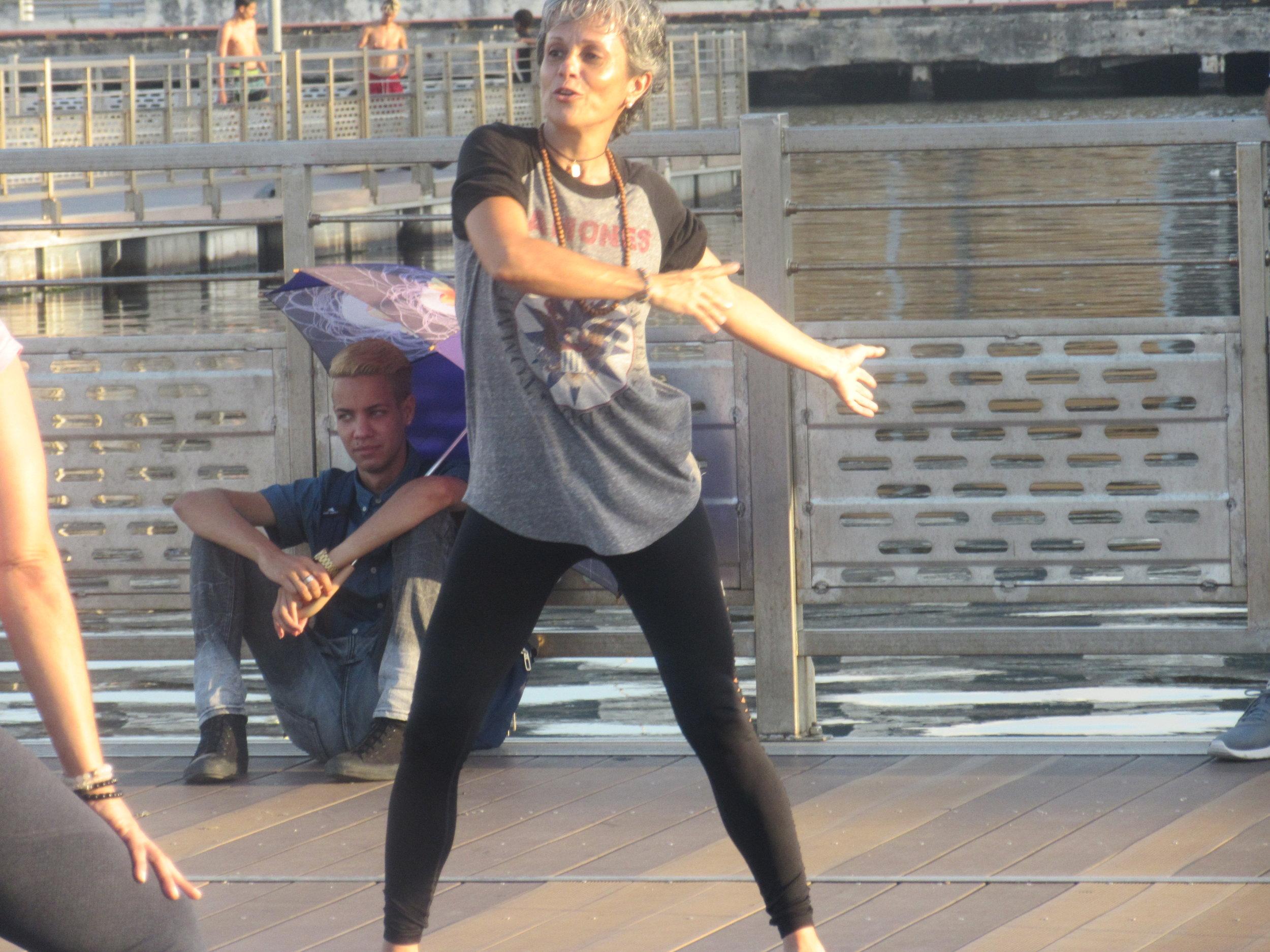 Maritza teaches us how to flow!
