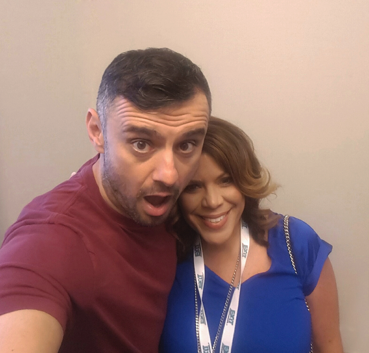 VERONICA WITH THE OUTSPOKEN  GARY VEE