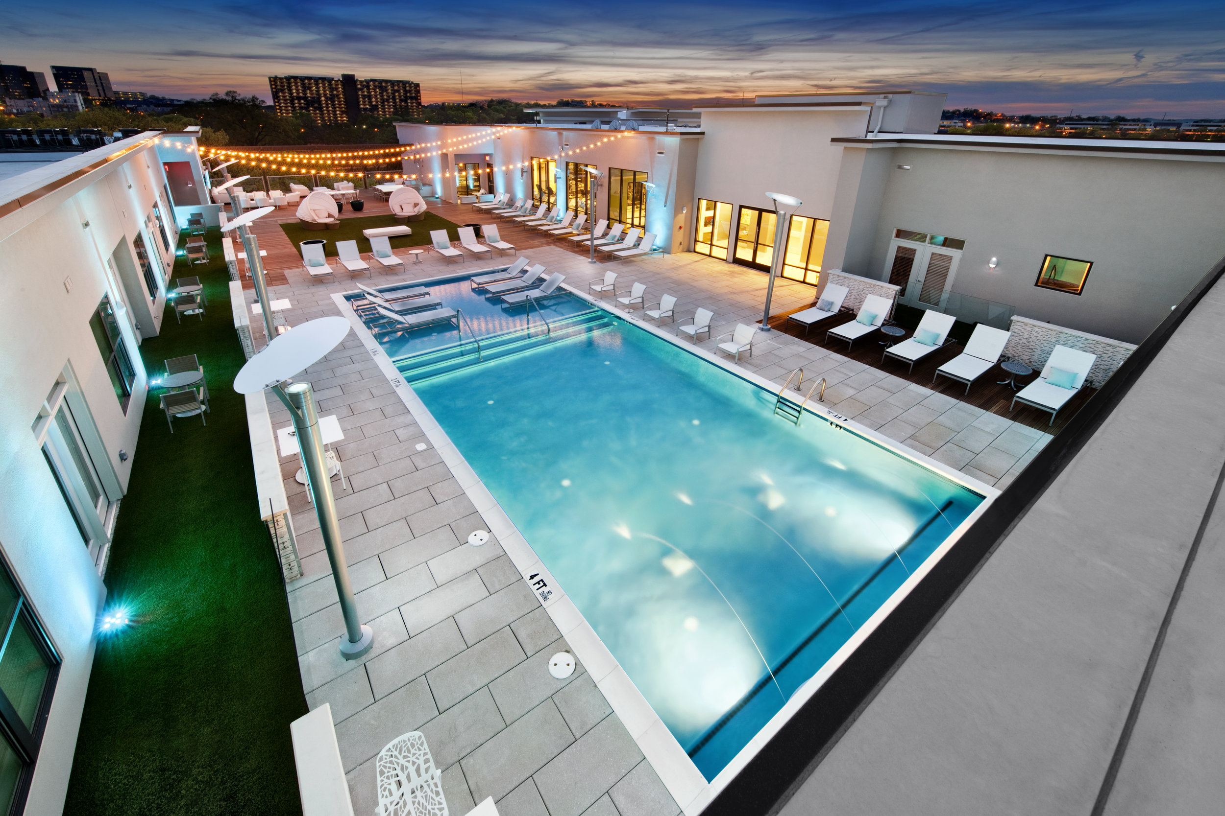 Rooftop Pool, Gym, Conference Rooms, Work From Home Spaces, and Resident Events in Nashville TN