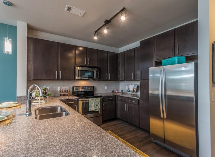 Luxury Kitchen with Granite Countertops in Nashville
