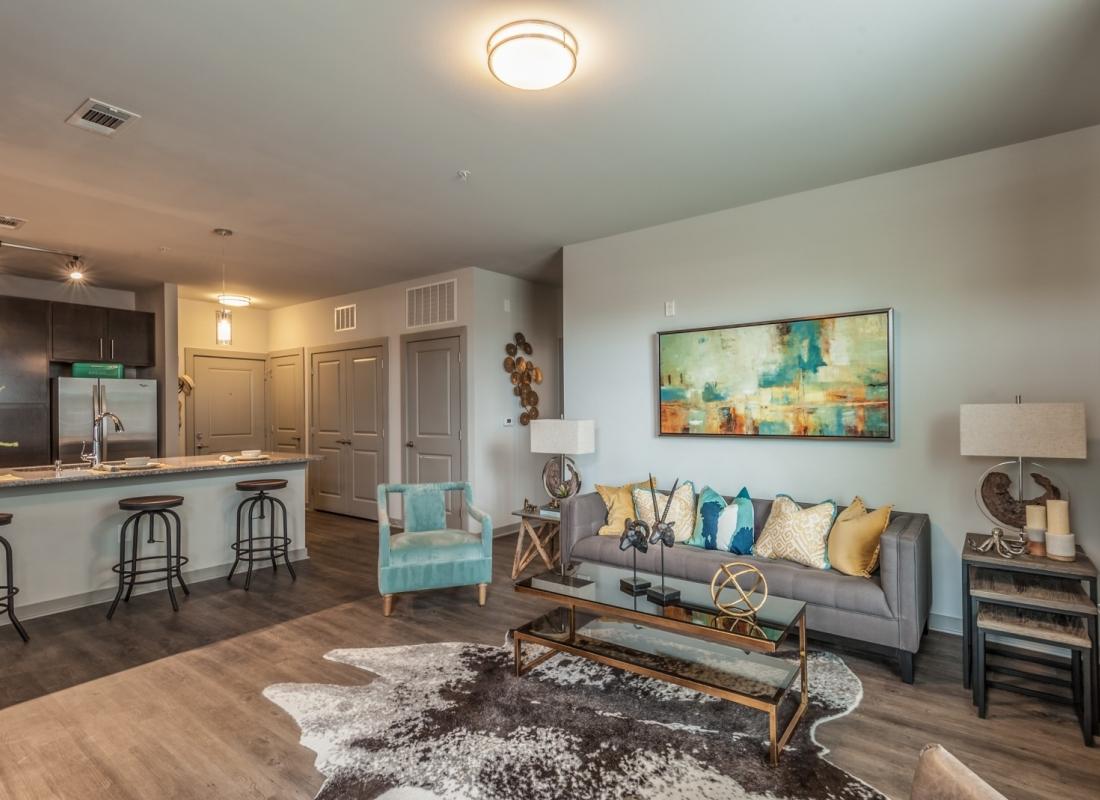 Open Concept Living Room in Nashville TN